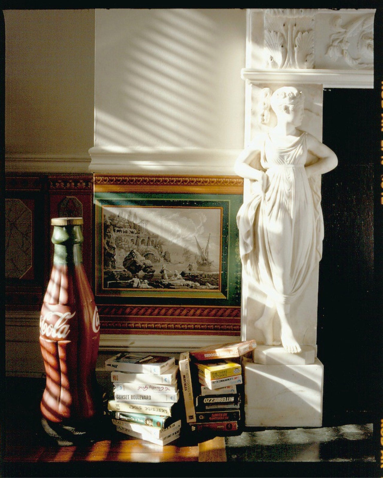 Shots from inside Warhol bedroom after death in Understanding Andy Warhol as a collector for A Collected Man