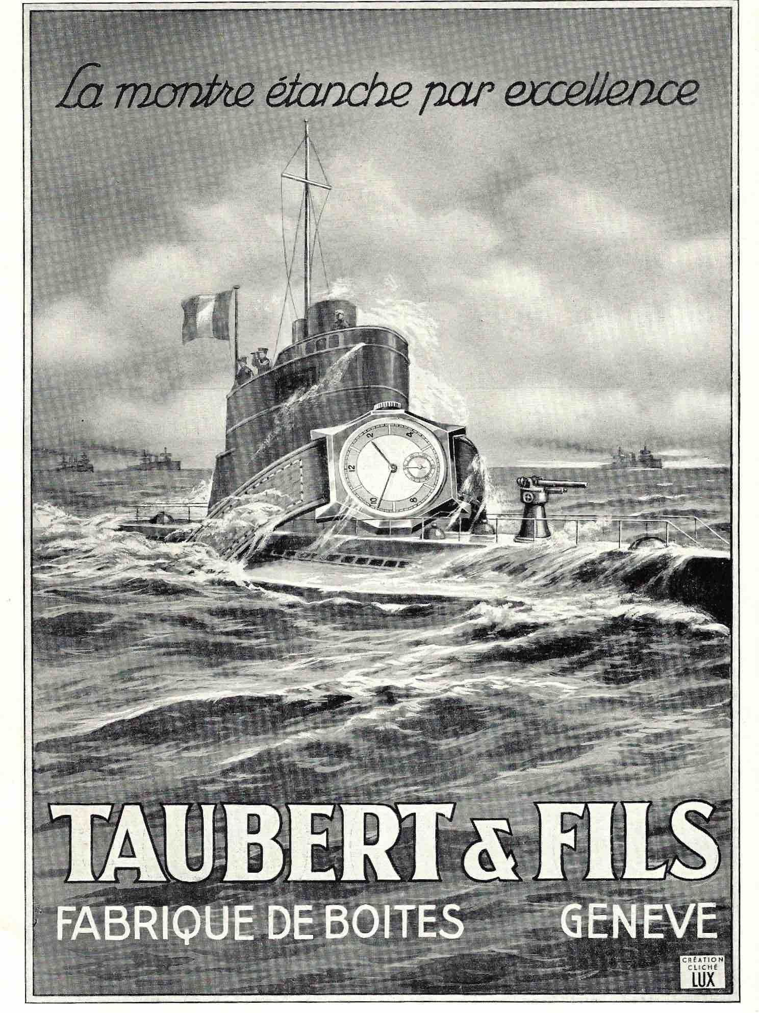 Taubert & Fils advert from 1939 in Borgel – The Master Casemaker you Haven't Heard Of for A Collected Man London