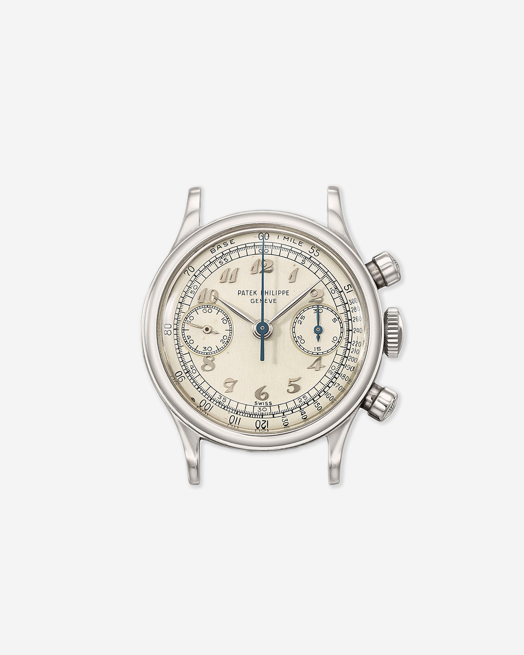 Patek Philippe 1463 on grey background in Borgel – The Master Casemaker you Haven't Heard Of for A Collected Man London