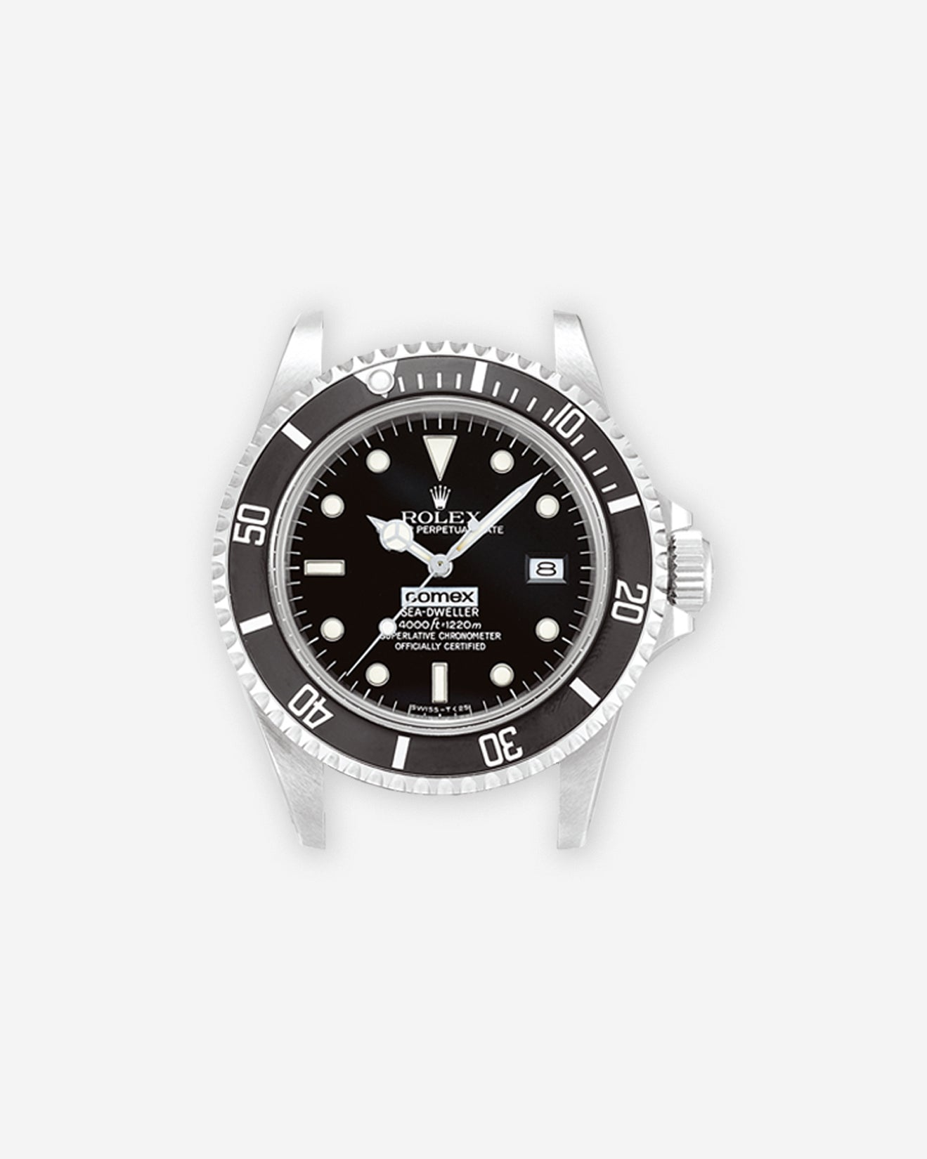 A Rolex Sea-Dweller COMEX signed from the 1980s for A Collected Man London
