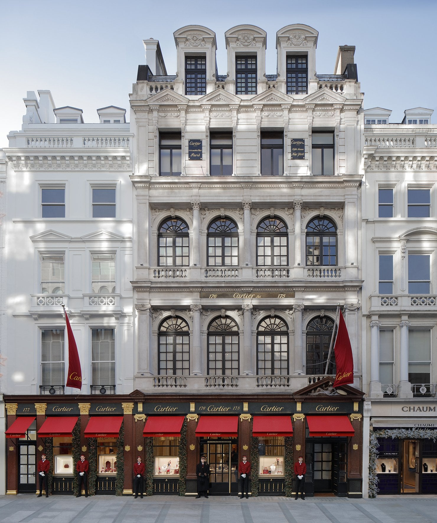 """Cartier London flagship store on Bond Street In A Collector's Guide to the """"Collection Privée Cartier Paris"""" for A Collected Man London"""