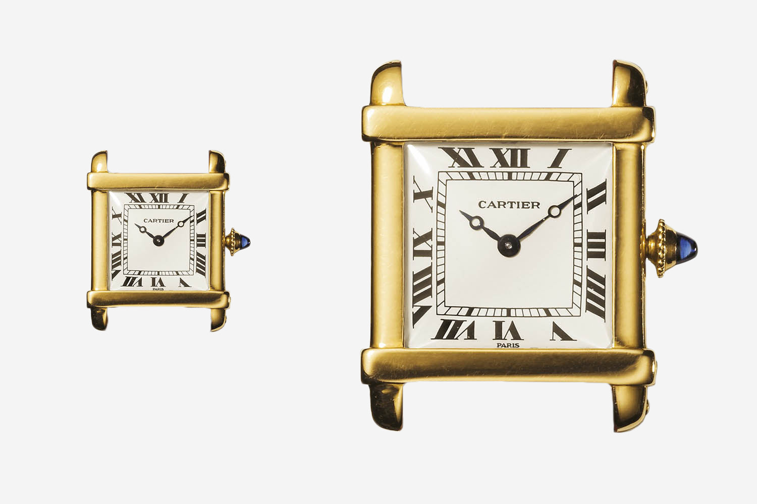 Cartier Tank Chinoise yellow gold Collection Privee Cartier Paris for A Collected Man London