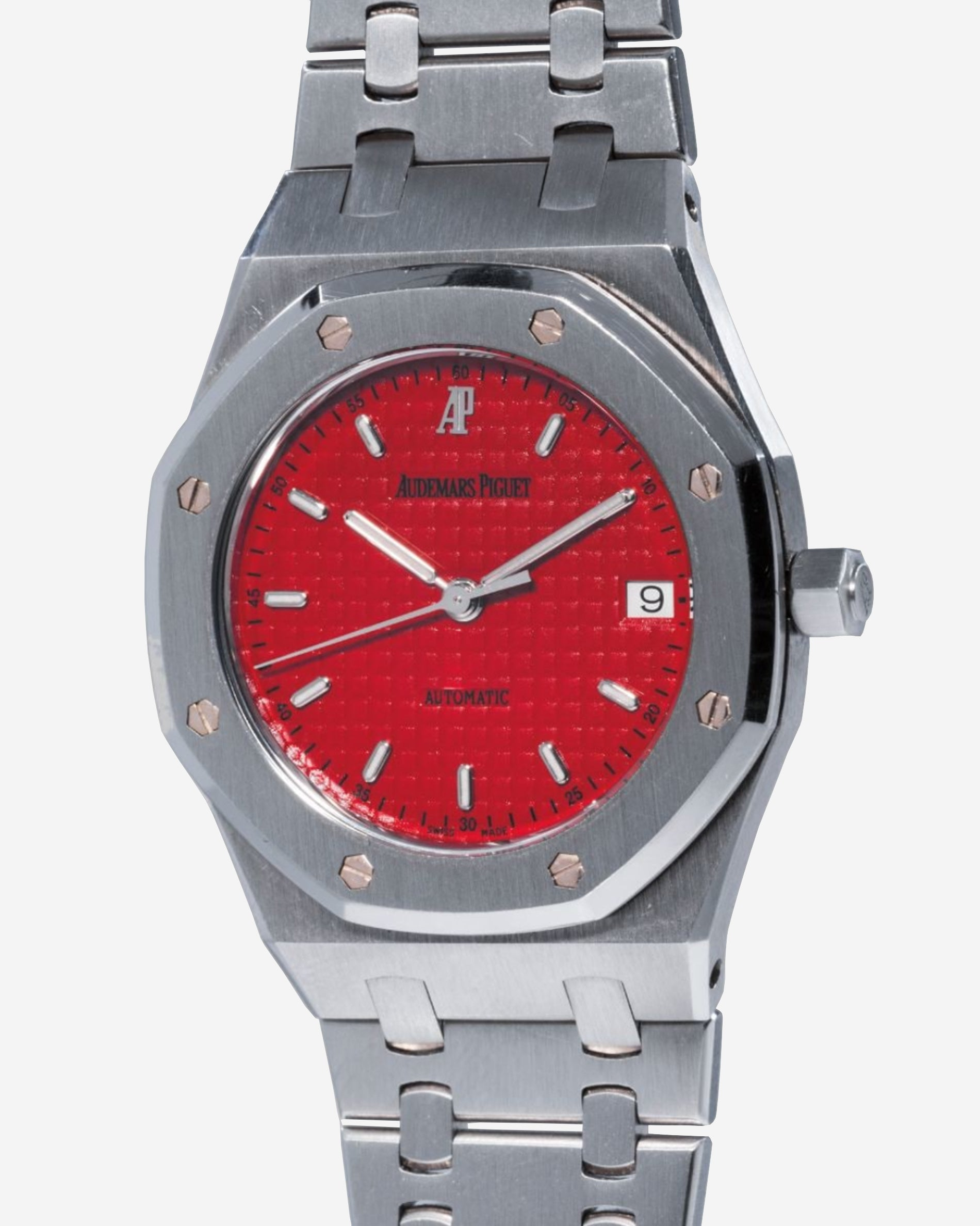 Audemars Piguet Royal Oak 14790 third series with a Ferrari Red dial in stainless steel for A Collected Man London