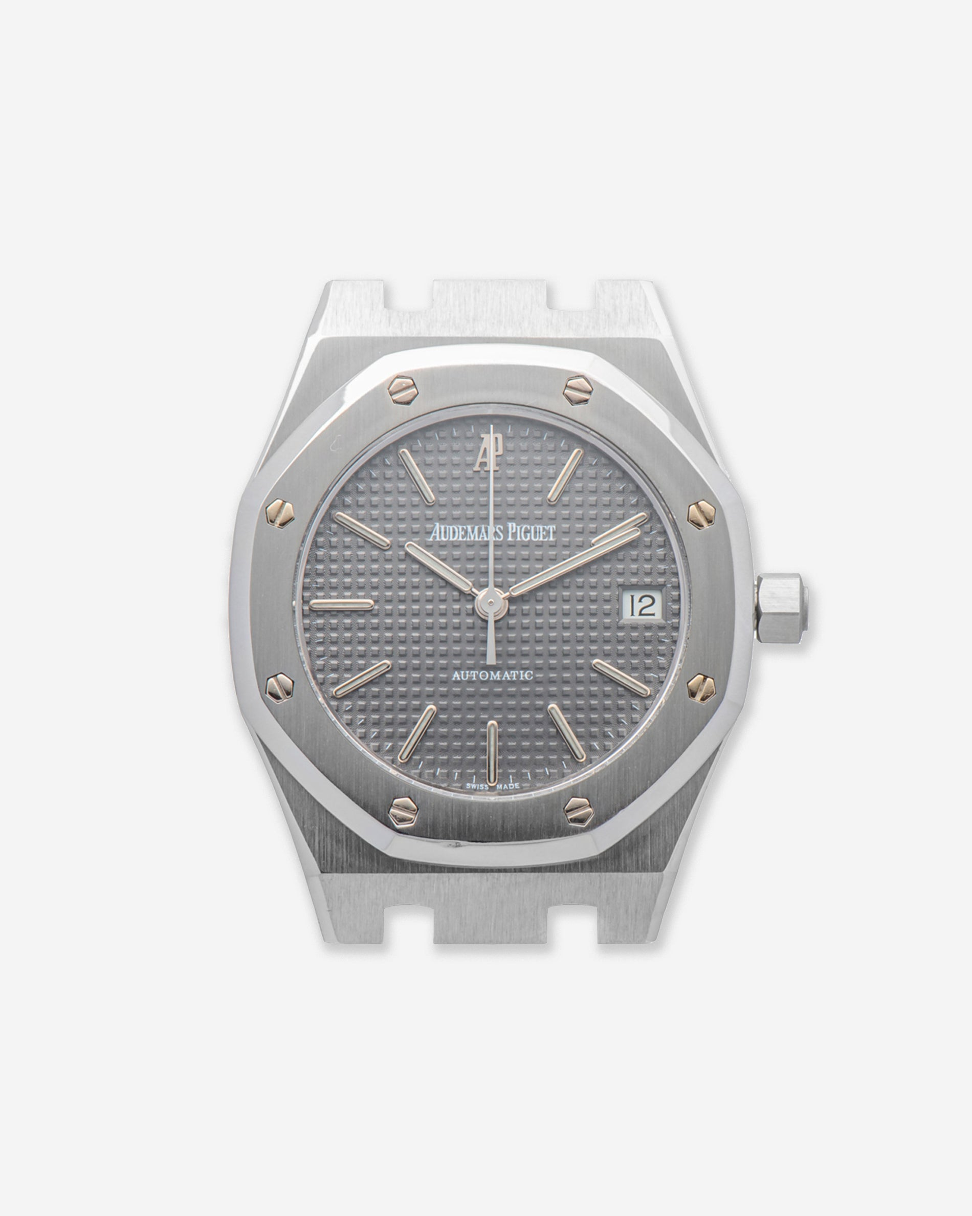 Audemars Piguet Royal Oak 14790 second series with a rare grey tappiserie dial for A Collected Man London