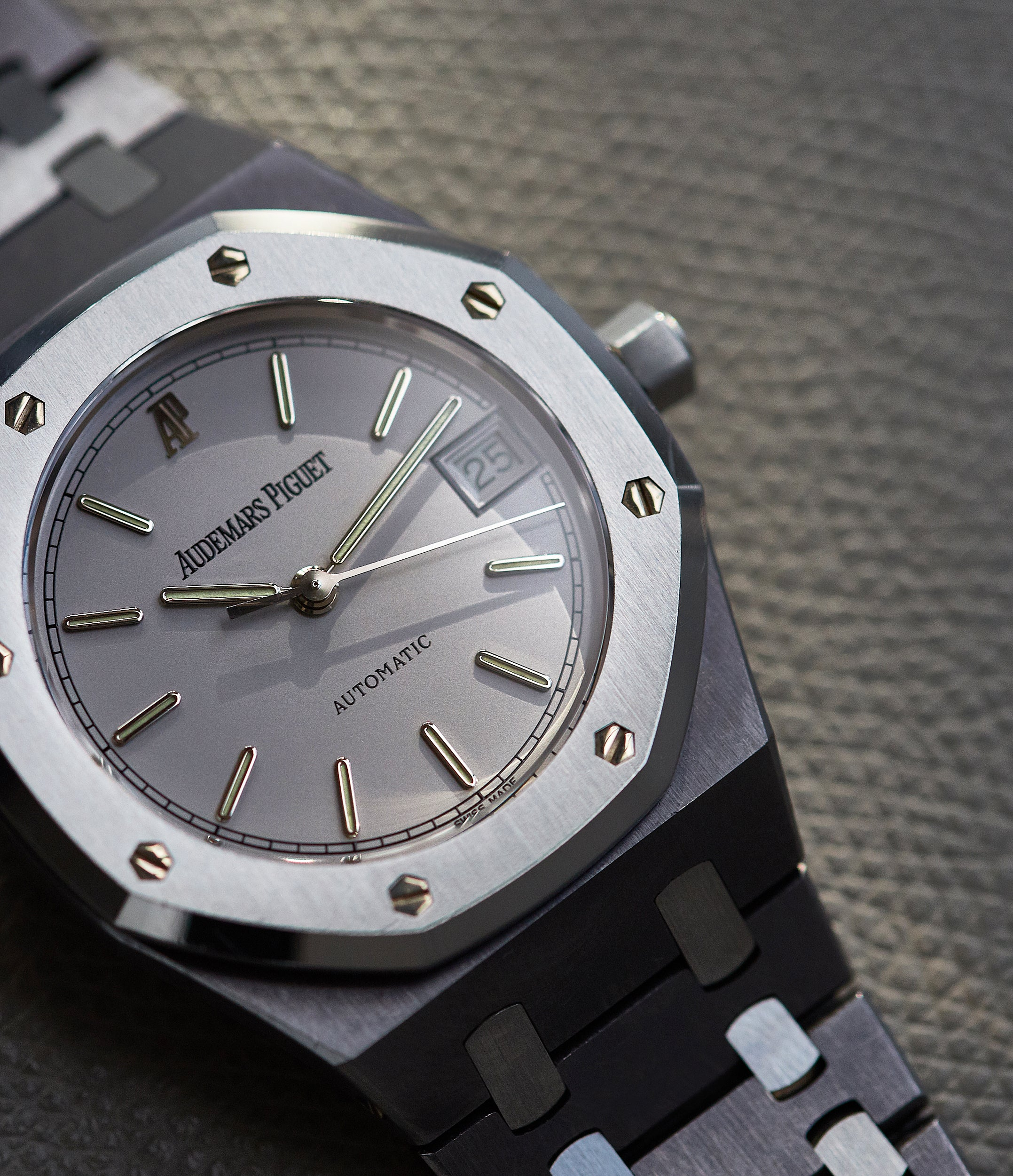 Audemars Piguet Royal Oak 14790 in tantalum and stainless steel second series for A Collected Man London