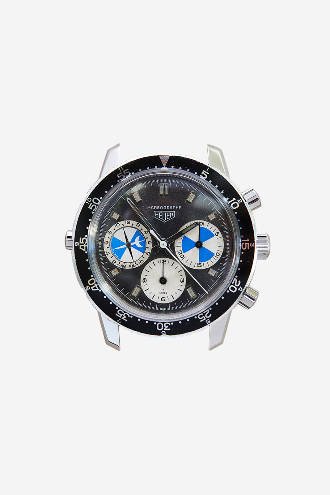 Heuer Mareograph Watch in The Complications Lost to Time for A Collected Man London