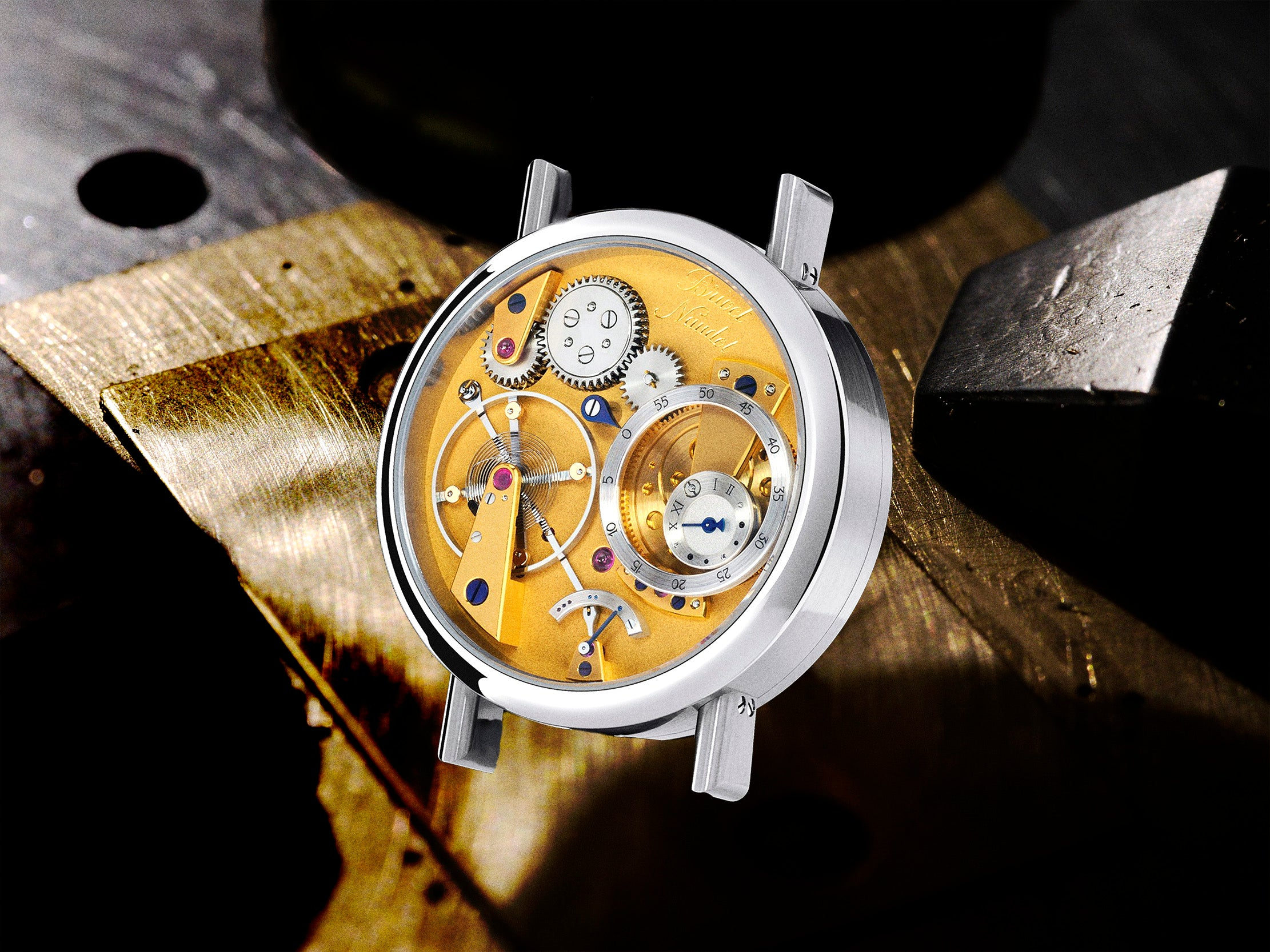 Cyril Brivet-Naudot newest handmade watch with a power reserve interview with A Collected Man London
