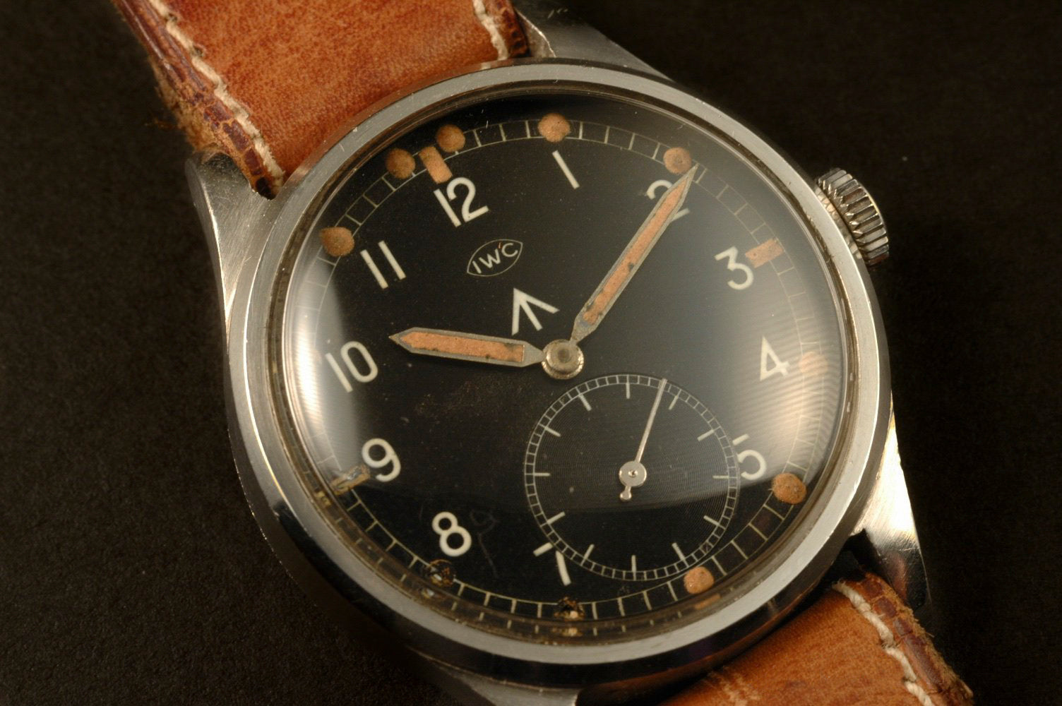 W.W.W. British Dirty Dozen IWC military watch at A Collected Man London vintage military watch specialist