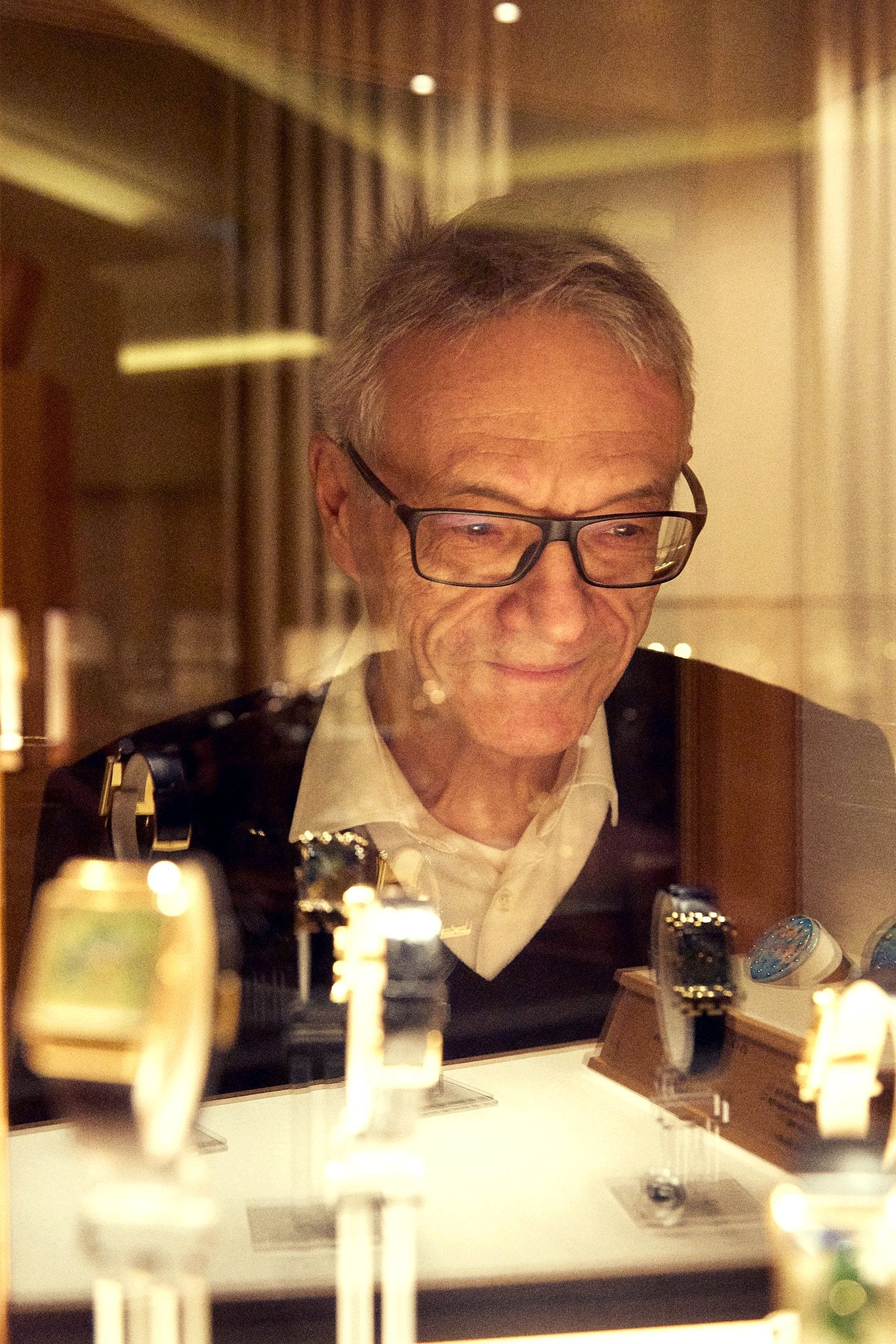 Dr. Crott hold Patek Philippe in The Early Days of Vintage Wristwatch Collecting for A Collected Man London