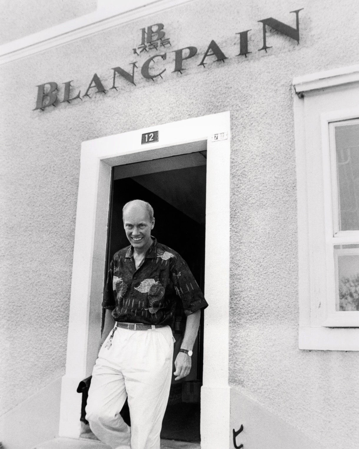 Jean-Claude Biver in The Early Days of Vintage Wristwatch Collecting for A Collected Man London