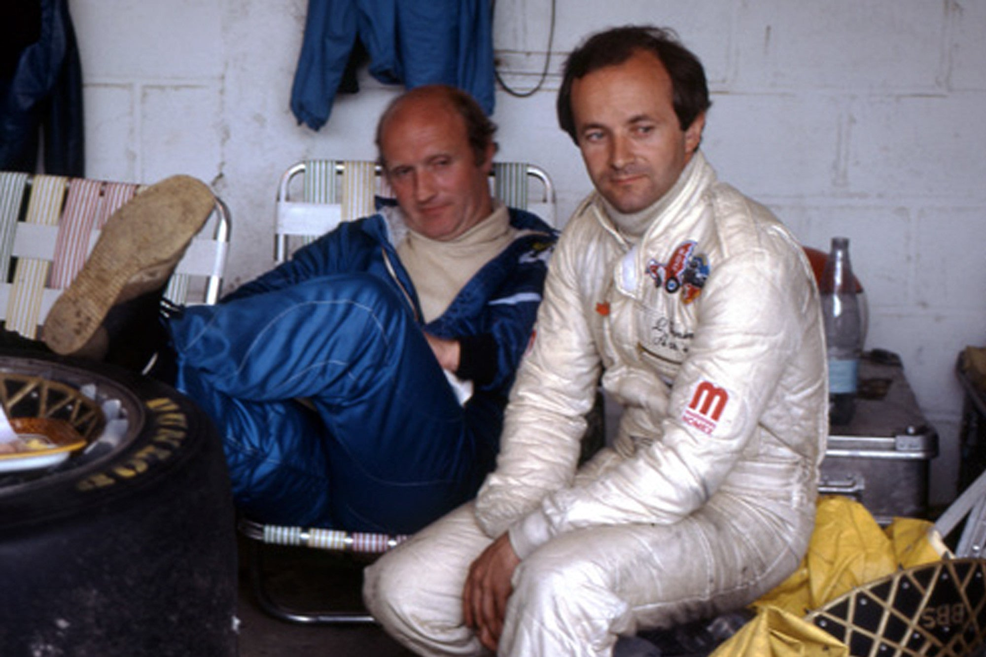 François Servanin and Laurent Ferrier racing at Le Mans