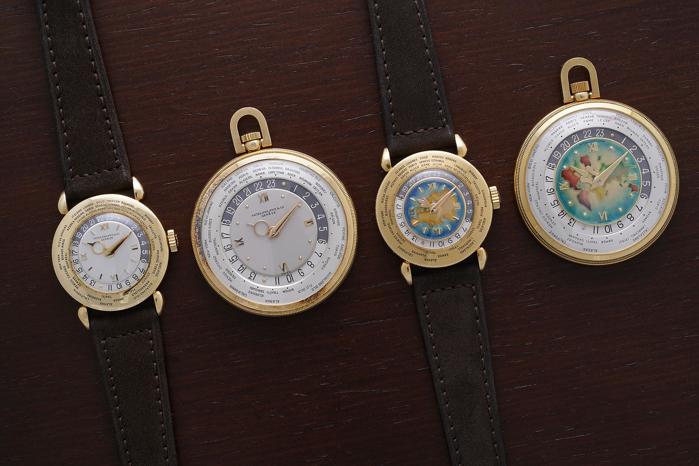 Patek Phillippe wrist watches and pocket watches In Four Patents that Changed the Face of Watchmaking for A Collected Man London