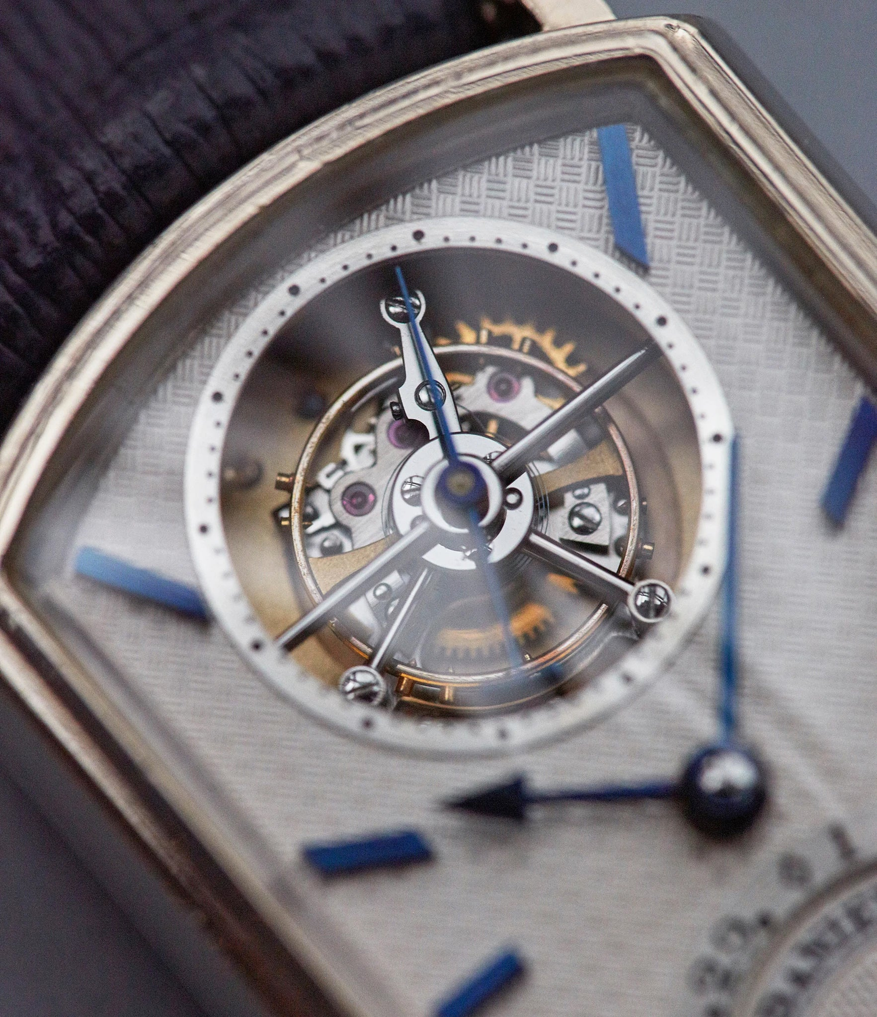 George Daniels tourbillon In Four Patents that Changed the Face of Watchmaking for A Collected Man London