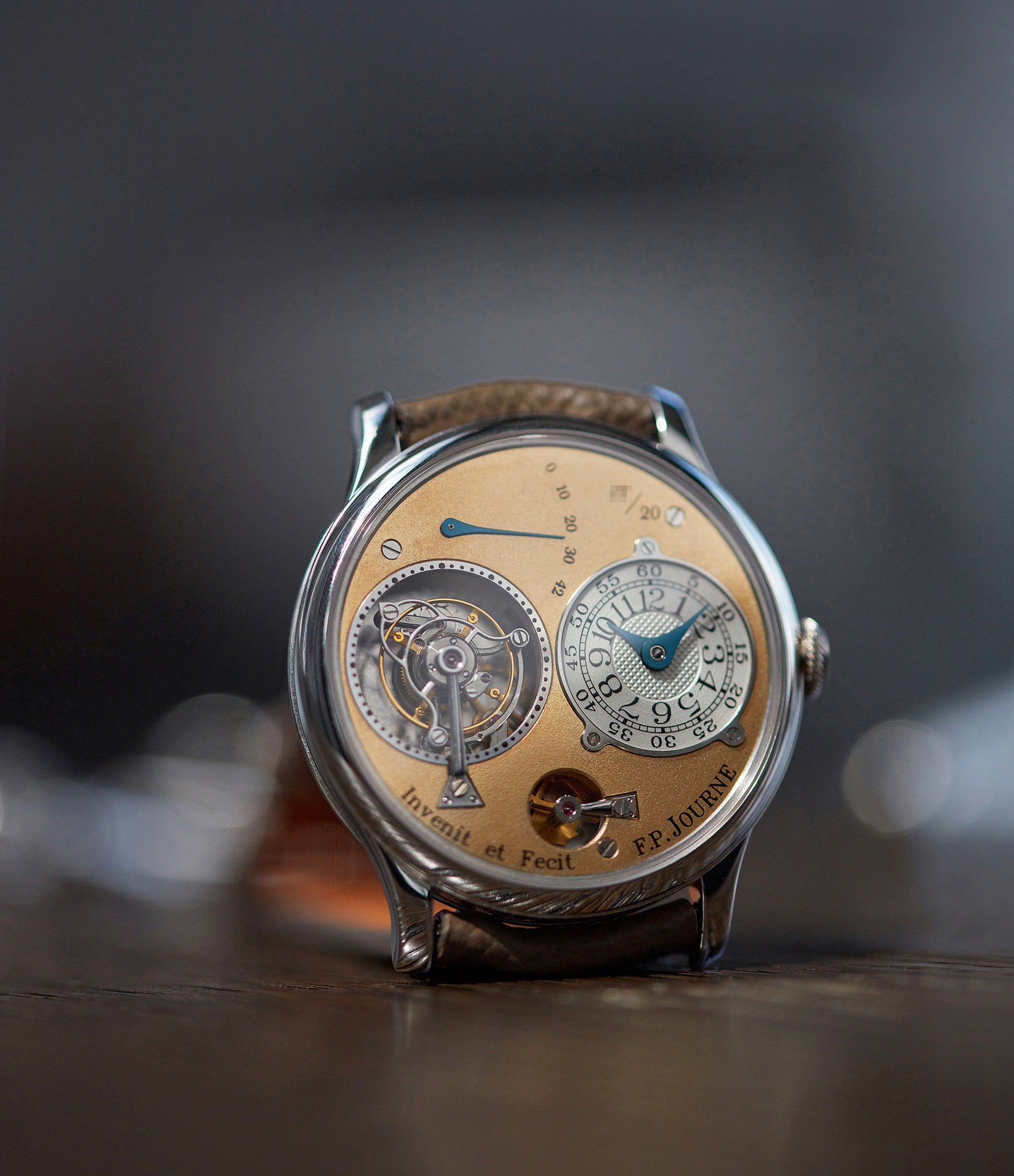 F.P. Journe Souscription Tourbillon that we recently handled and photographed A Collected Man London