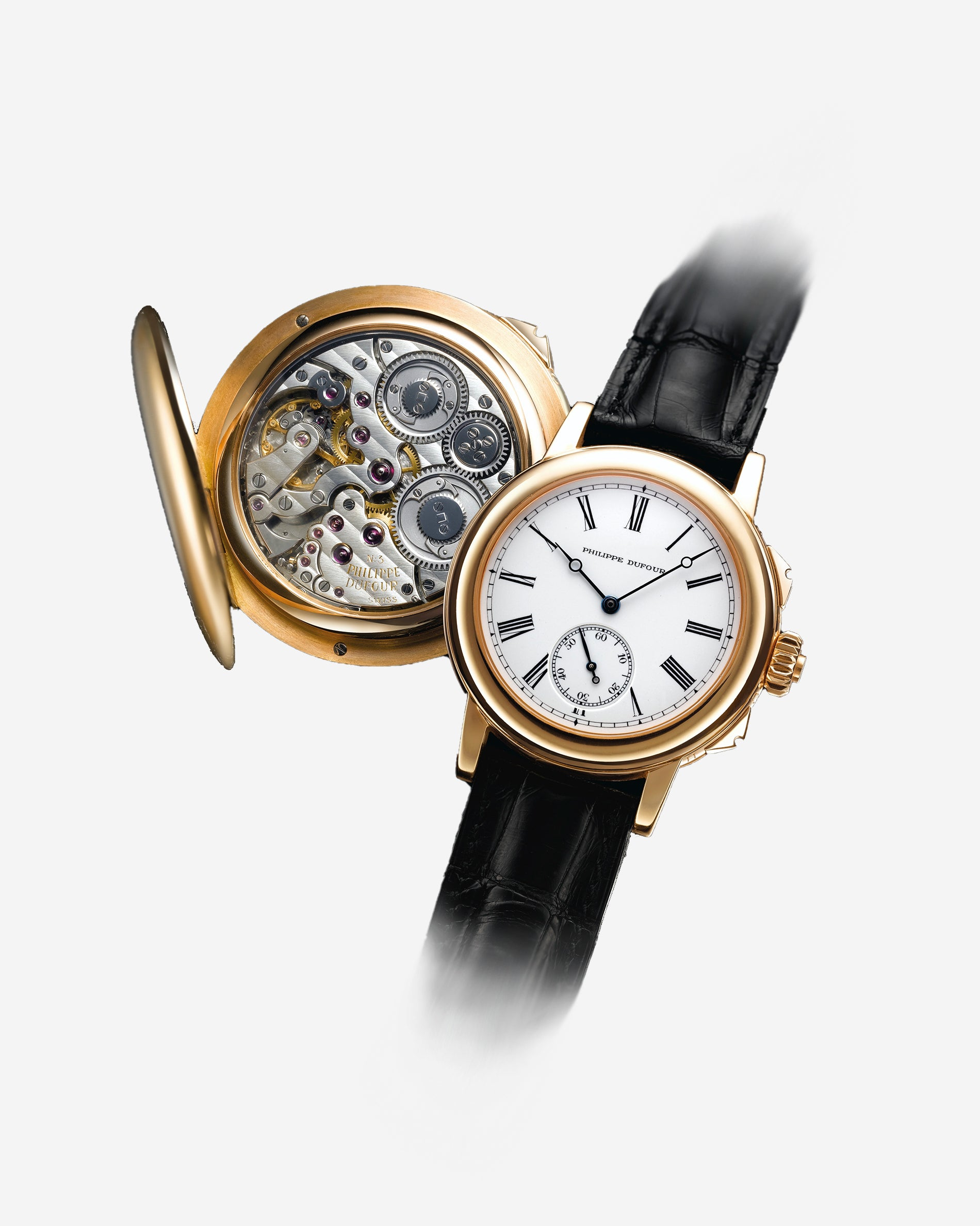 Philippe Dufour Grand Sonnerie minute-repeater wristwatch in yellow gold from A Collected Man London