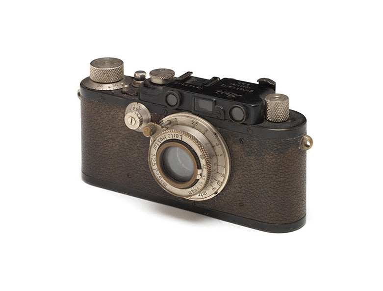 Leica II part of the Leica Sale held by Bonhams in Hong Kong 2012 with George Daniels collection for A Collected Man London