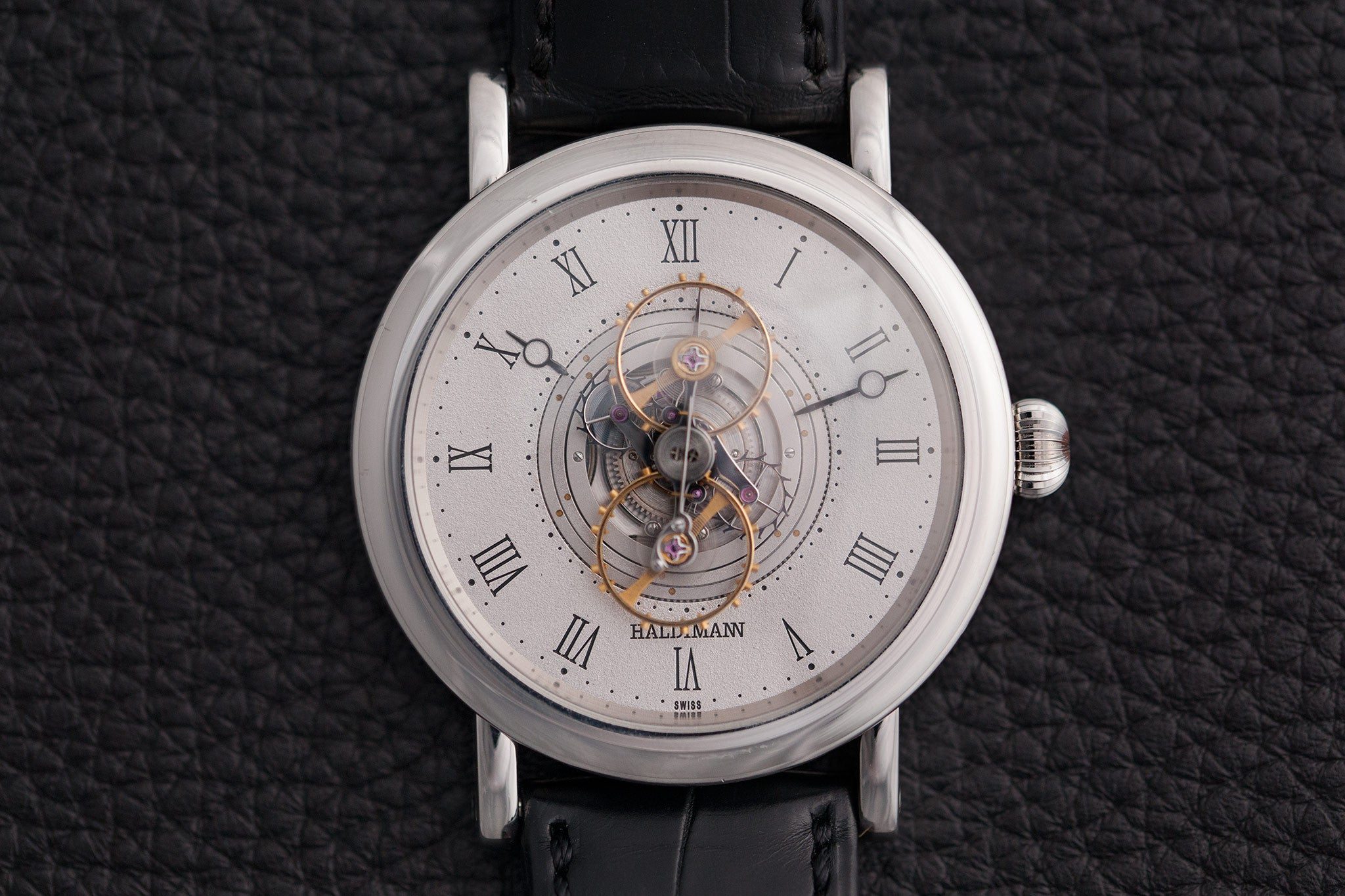 Haldimann H2 Flying Resonance watch at A Collected Man - approved seller of independent watchmakers