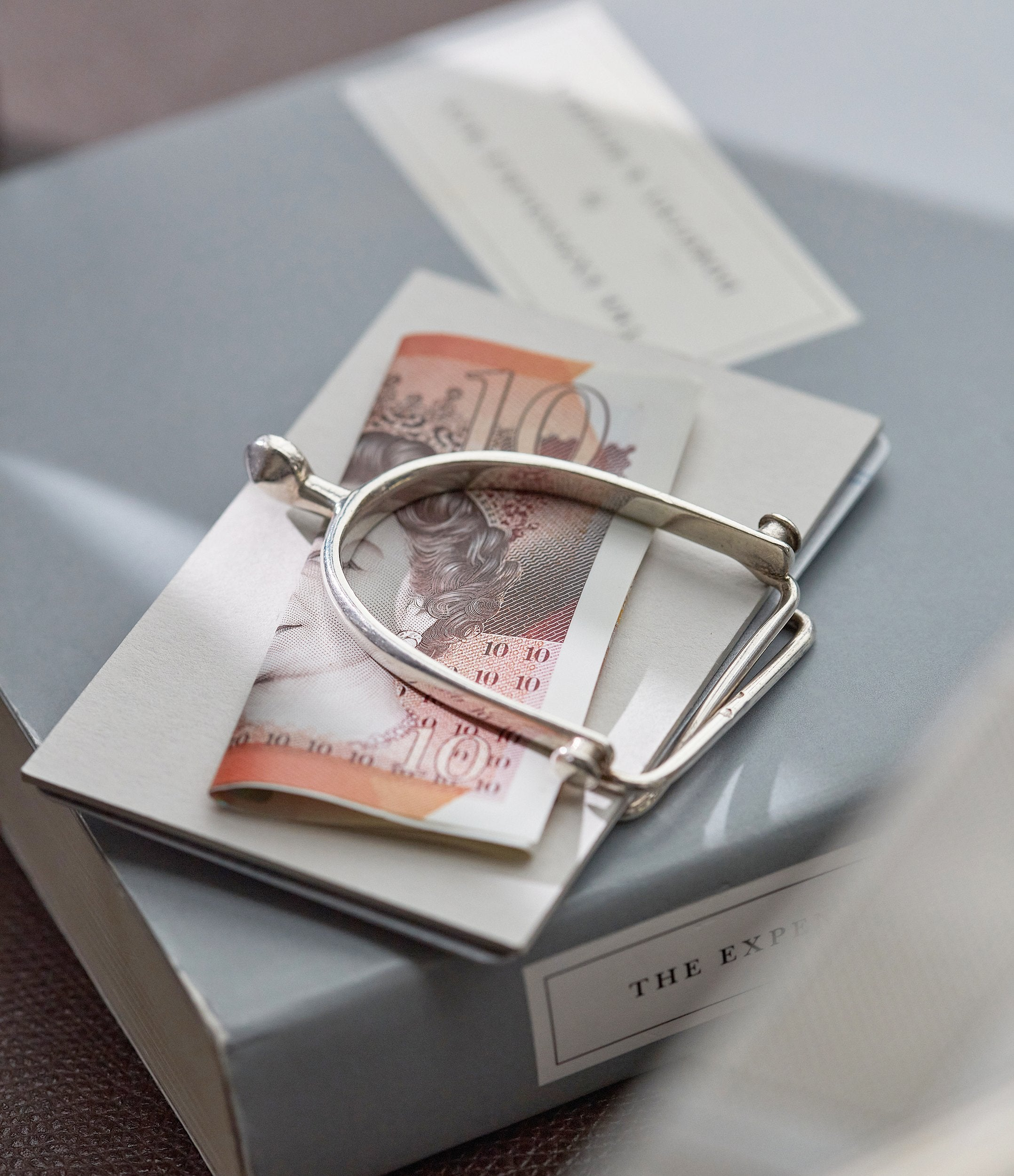 Hermès money clip in How Hermès became the Masters of Leather for A Collected Man London