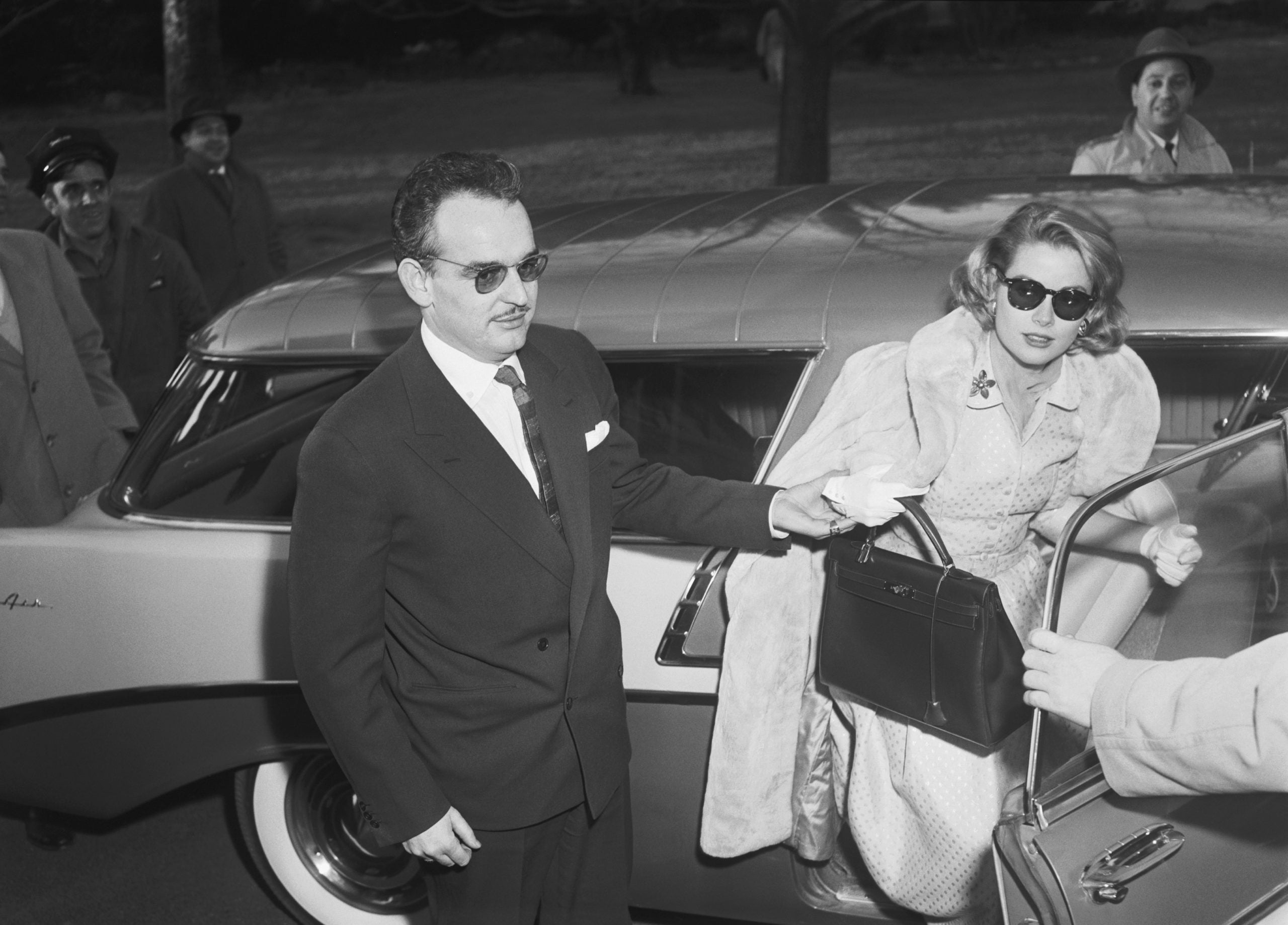 Grace Kelly, with her eponymous Kelly bag in How Hermès became the Masters of Leather for A Collected Man London