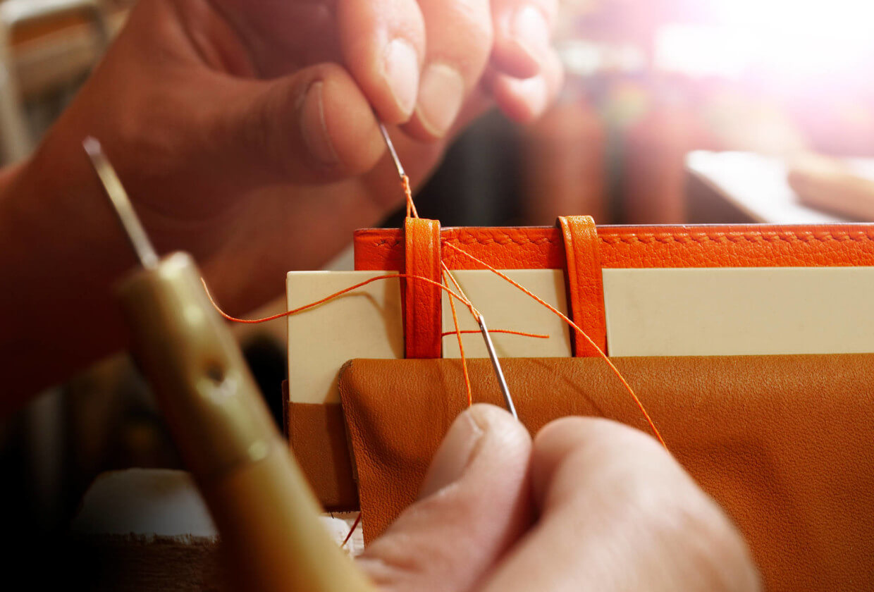 Crafting in How Hermès became the Masters of Leather for A Collected Man London