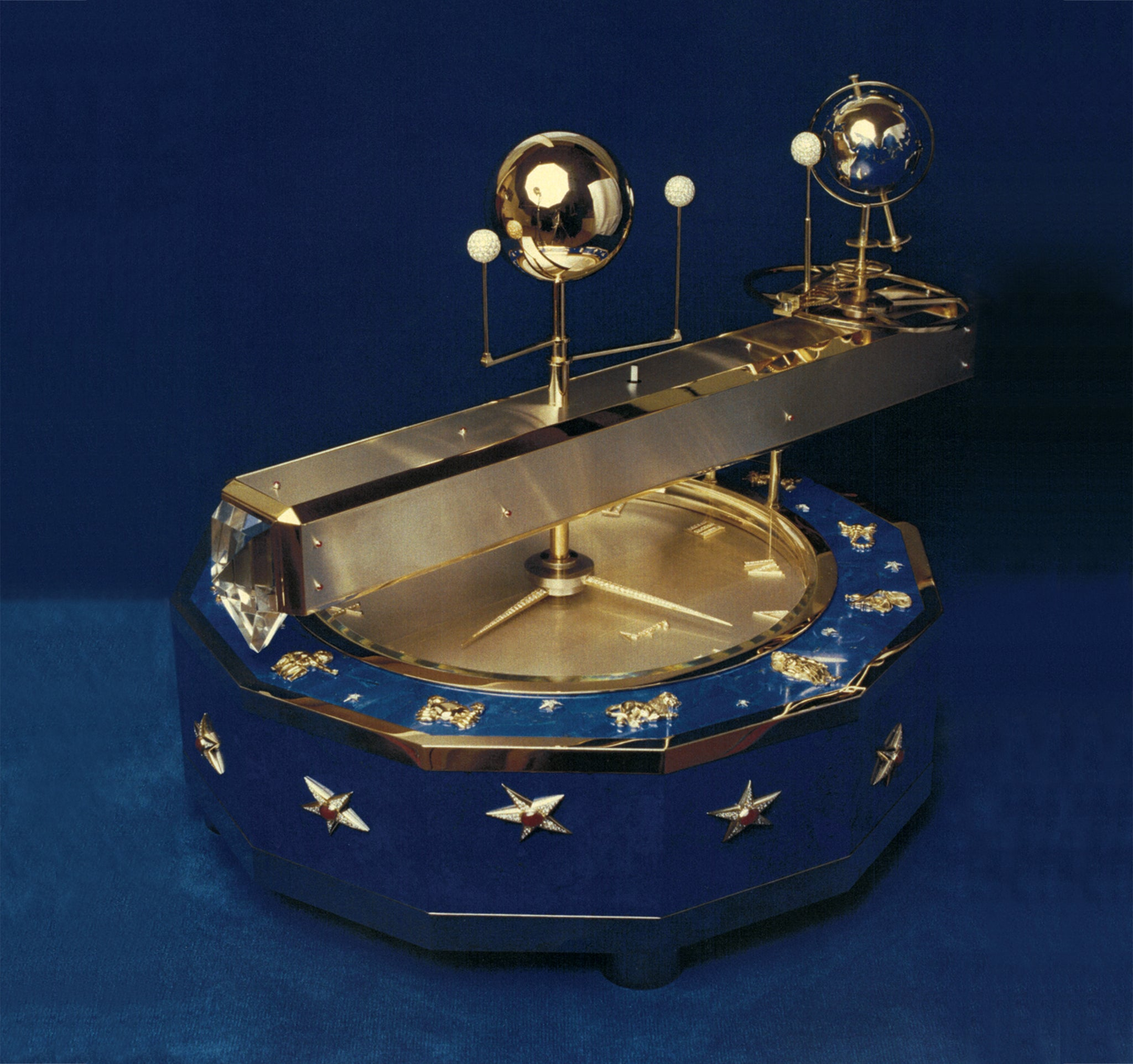 The Planetarium that Jounre helped to build for P.G Brun and Asprey, completed in 1979