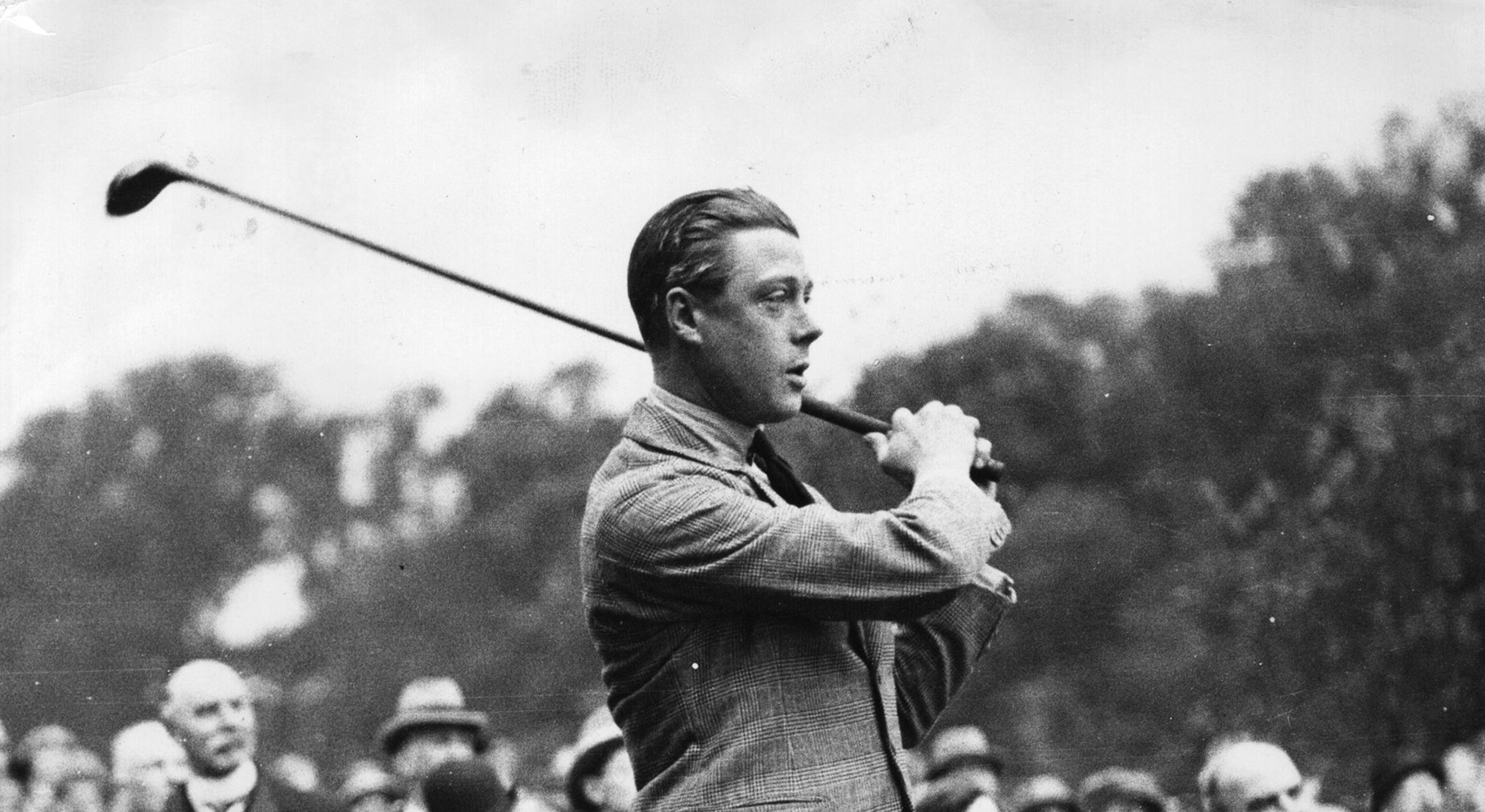 King Edward VIII playing golf our favourite horological objects A Collected Man London