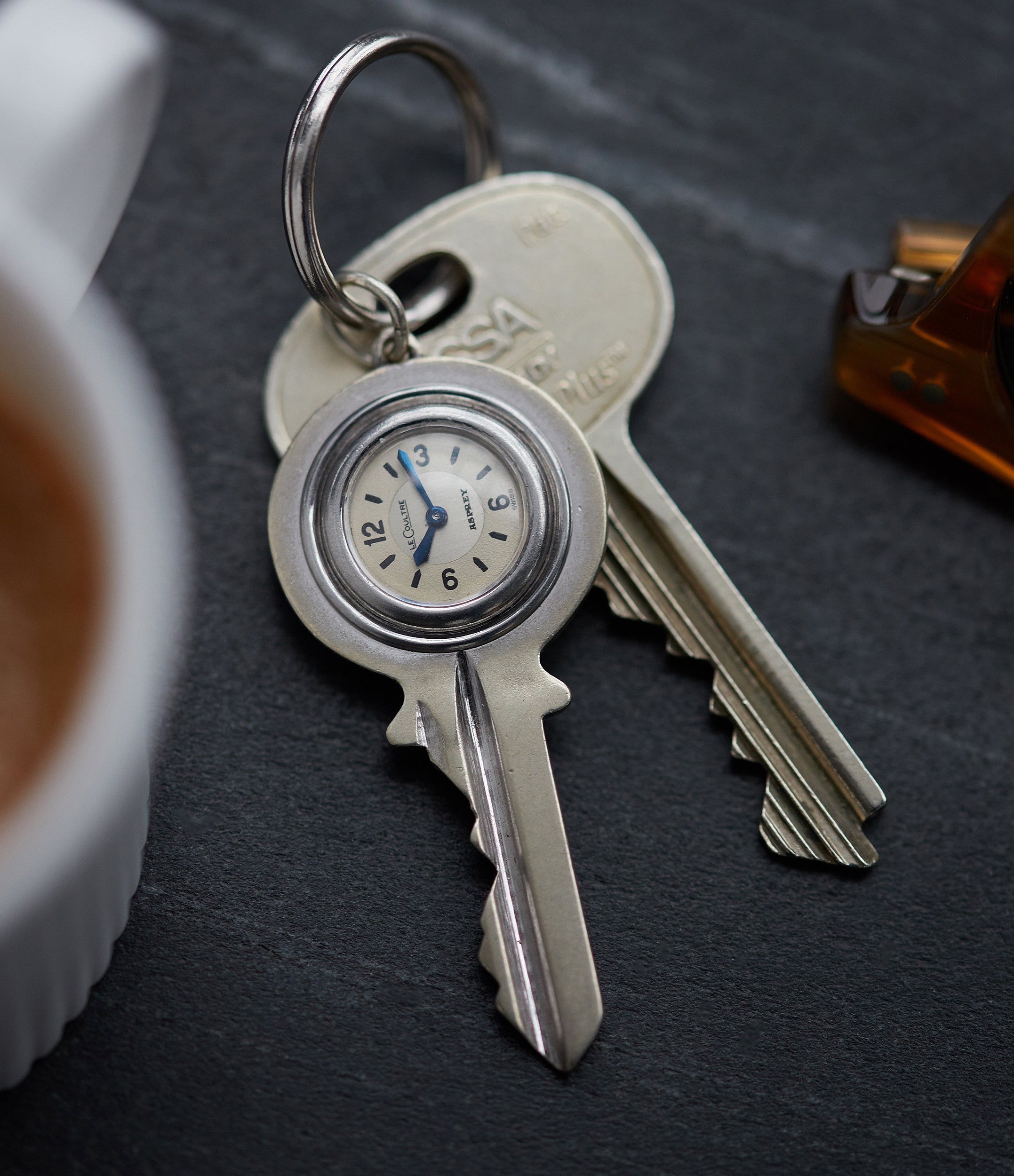 A Jeager-LeCoultre Asprey Key with watch in Our Favourite Horological Objects for A Collected Man Londons