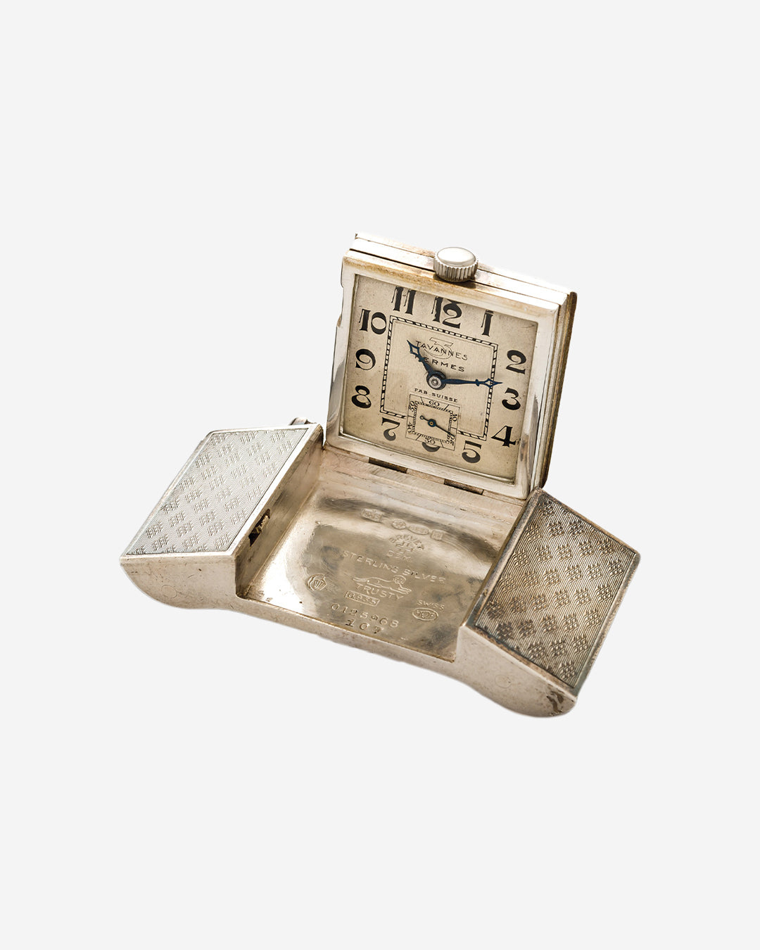 A Silver Hermes Belt buckle watch in Our Favourite Horological Objects for A Collected Man London
