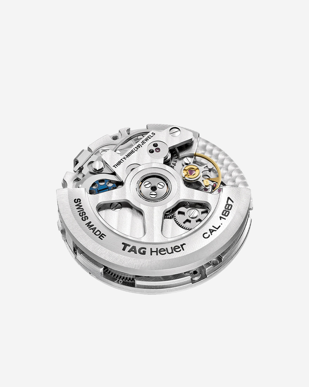 TAG Heuer watch movement on grey background in In-house or ébauche, and does it even matter anymore? For A Collected Man London