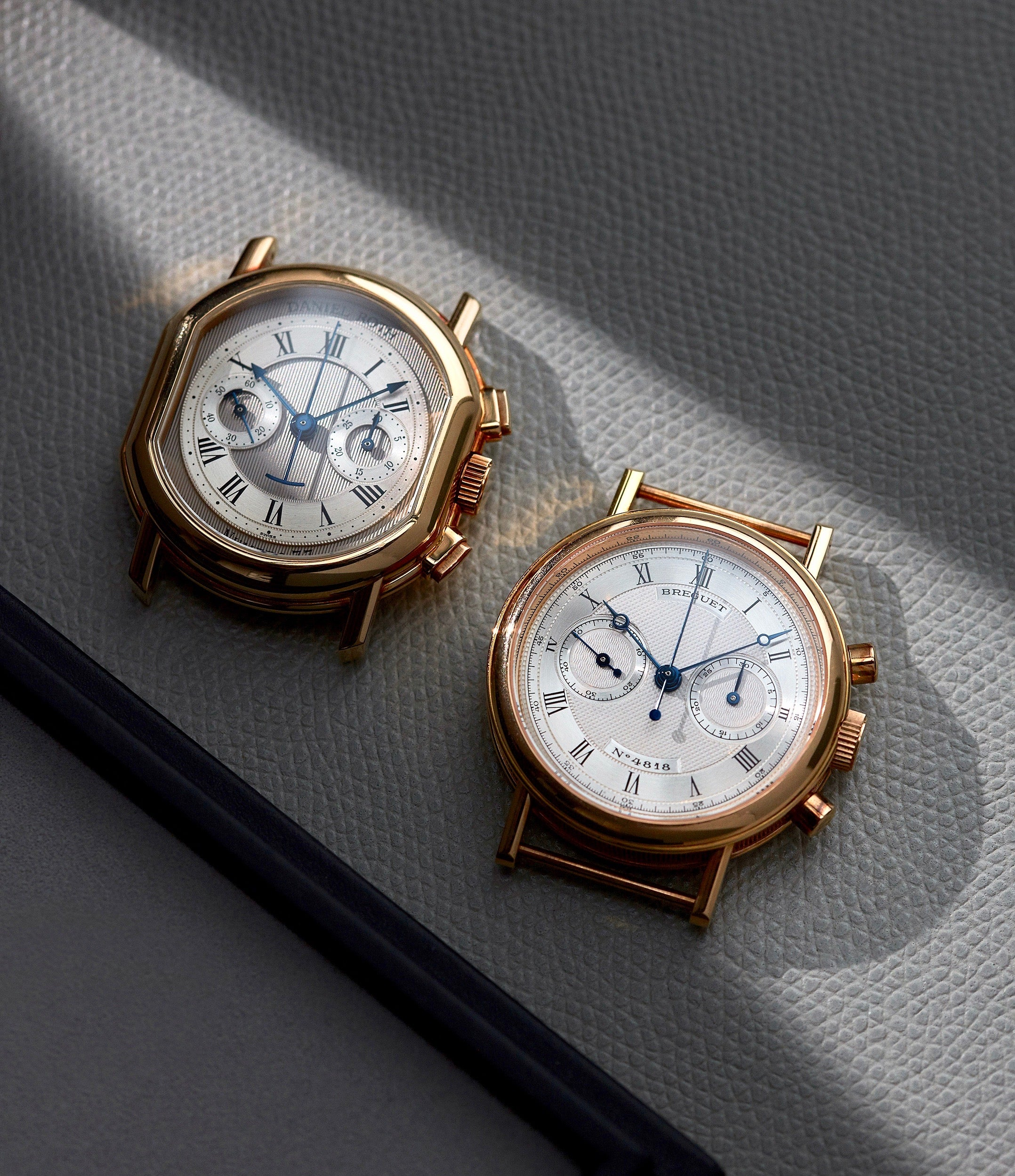 Daniel Roth and Breguet chronographs face up in In-house or ébauche, and does it even matter anymore? For A Collected Man London