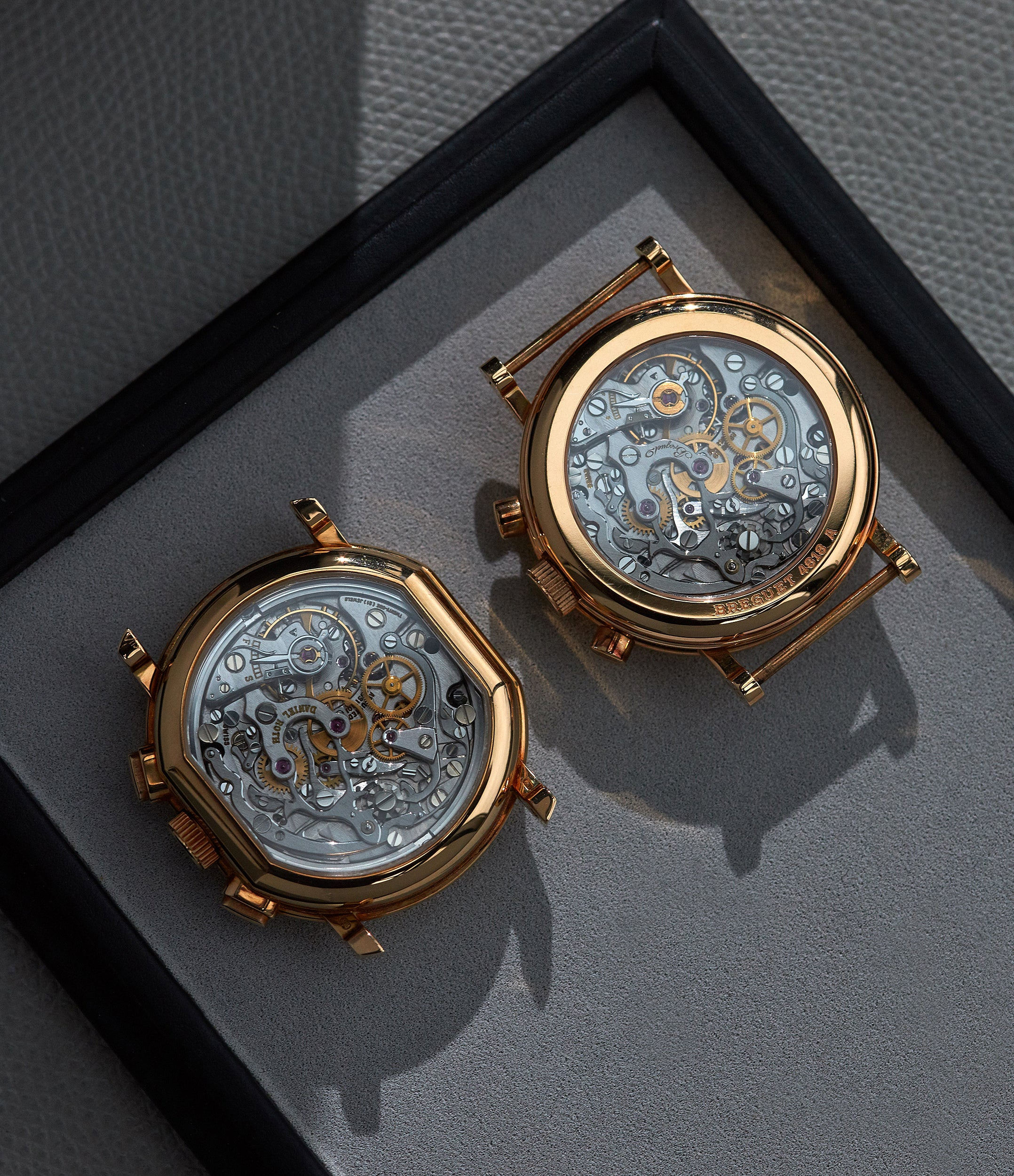 Daniel Roth and Breguet chronograph movements In-house or ébauche, and does it even matter anymore? For A Collected Man London