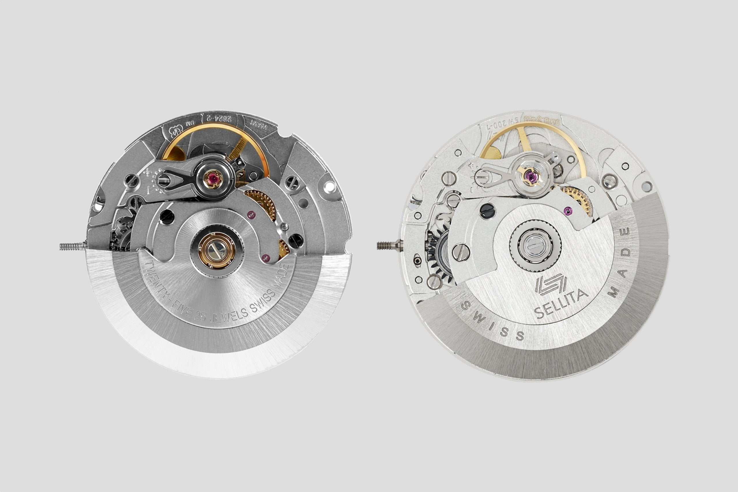 ETA 2824-2 and Sellita SW 200-7 watch movements in In-house or ébauche, and does it even matter anymore? For A Collected Man London
