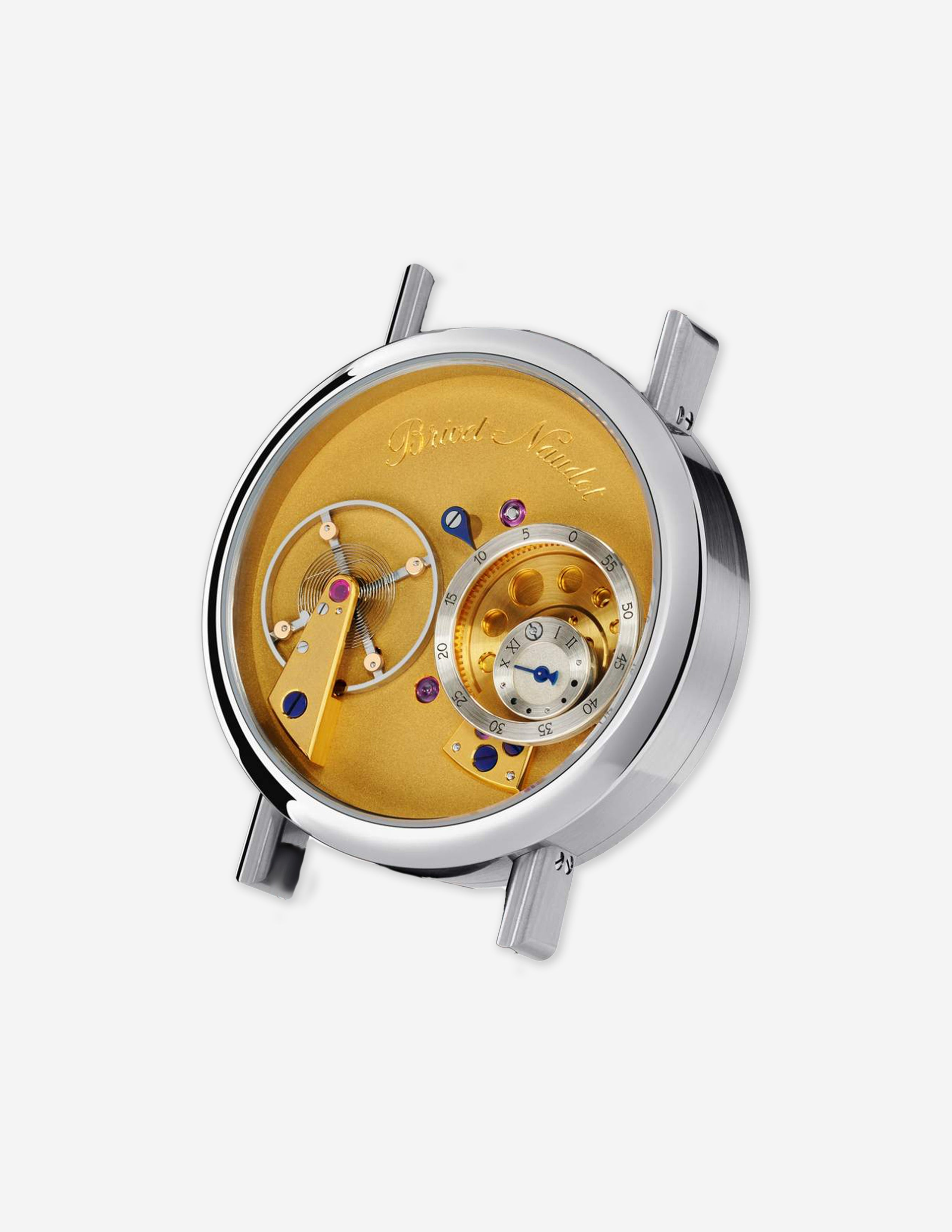 The Cyril Brivet-Naudot Eccentric wristwatch that was nomincated for a GPHG award for A Collected Man London