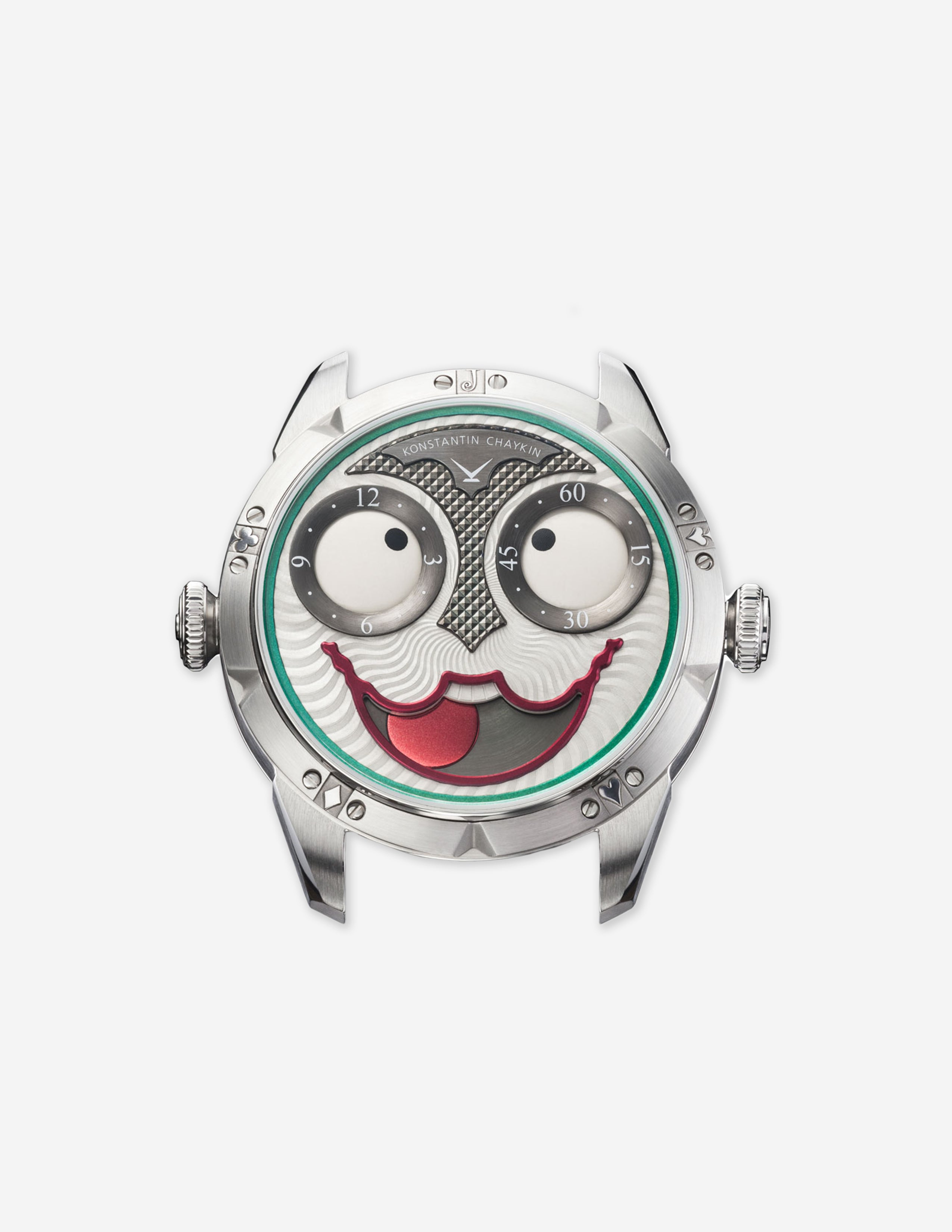 A Konstantin Chaykin Joker wristwatch with large moon phase mouth made in Russia for A Collected Man London