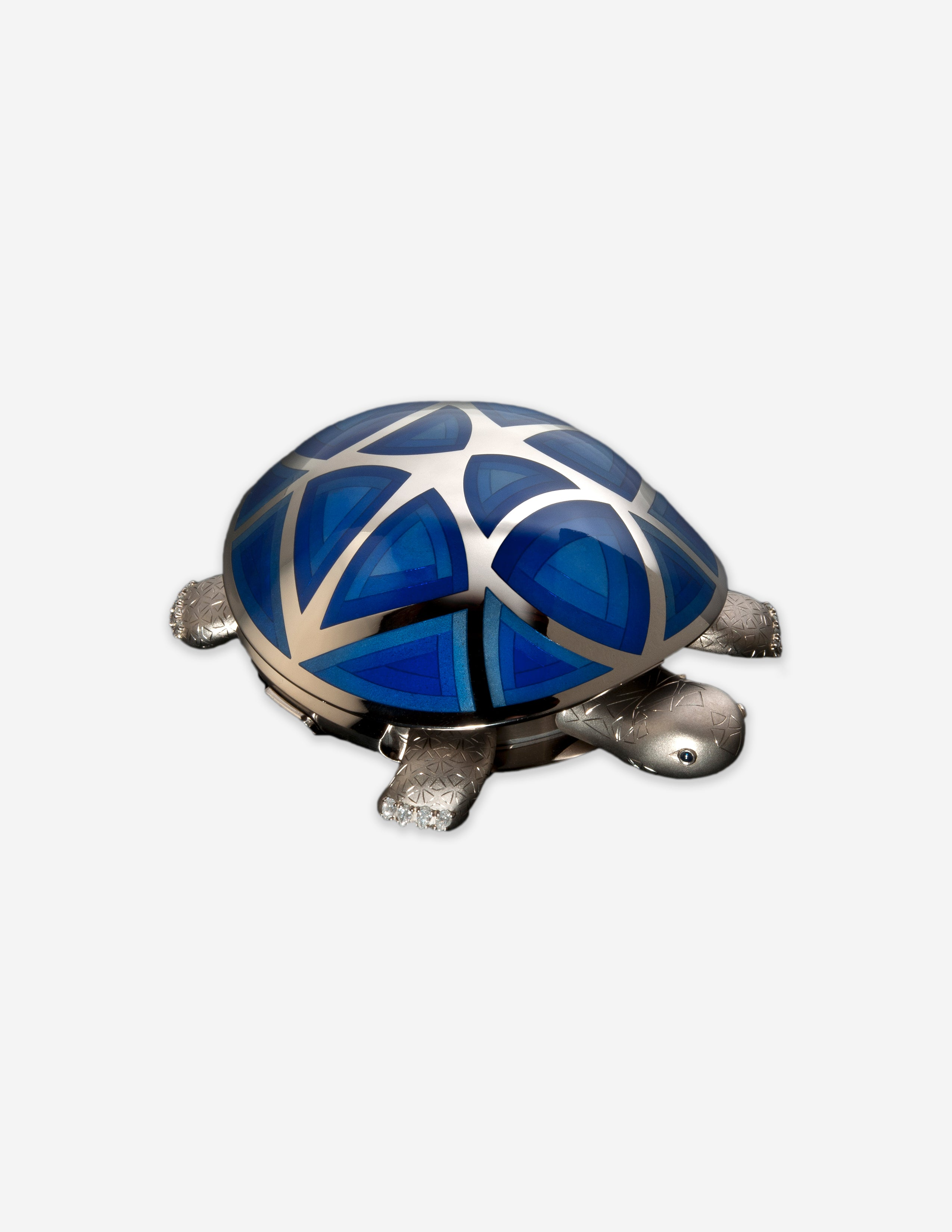 The Tortoise automation made by Raul Pages of Spain for A Collected Man London