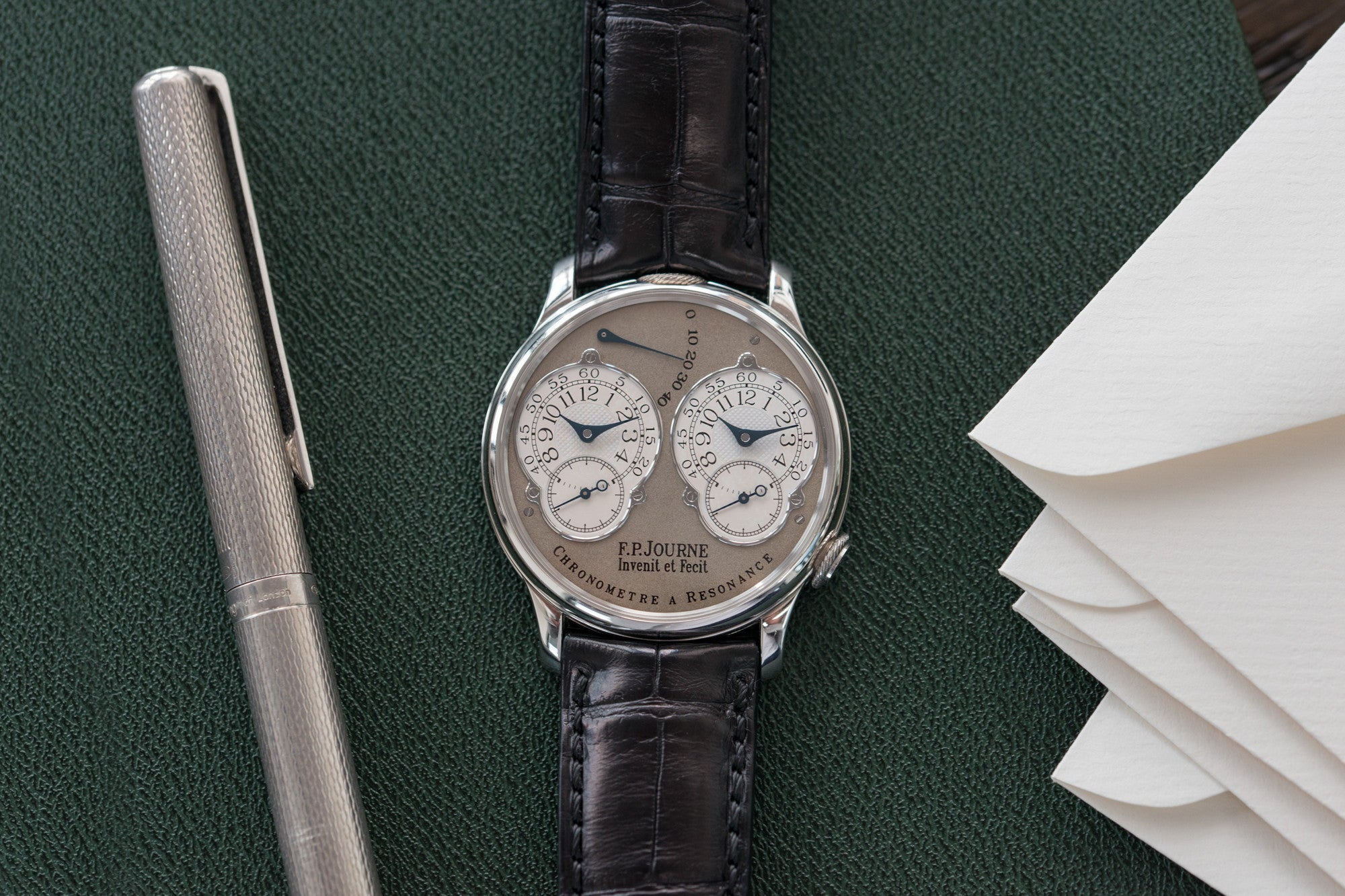 F. P. Journe Chronometre A Resonance at A Collected Man rare independent watch specialist