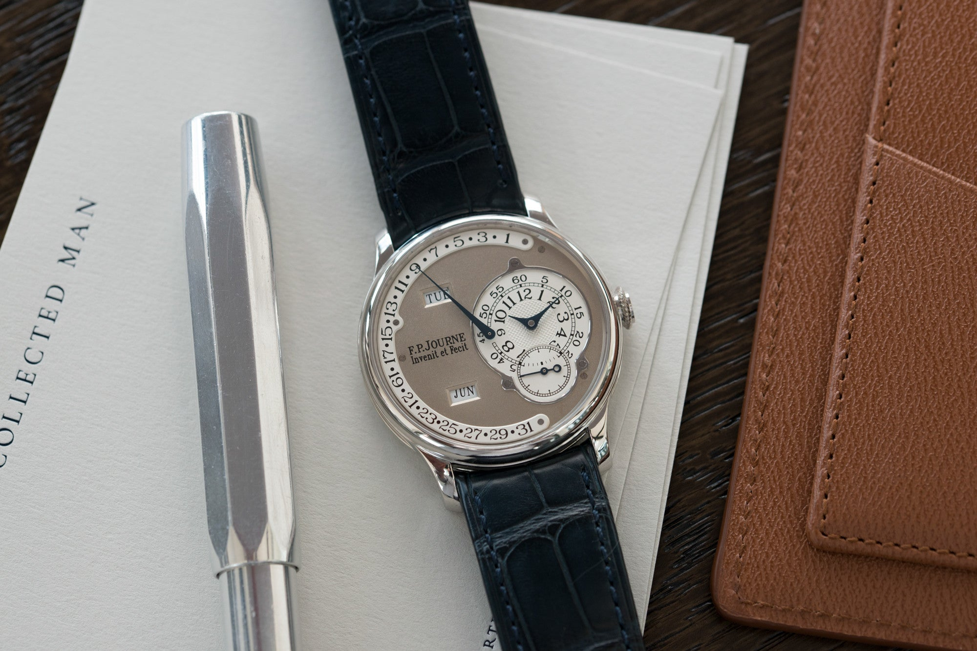 F. P. Journe Octa Calendrier at A Collected Man independent watchmaker specialist