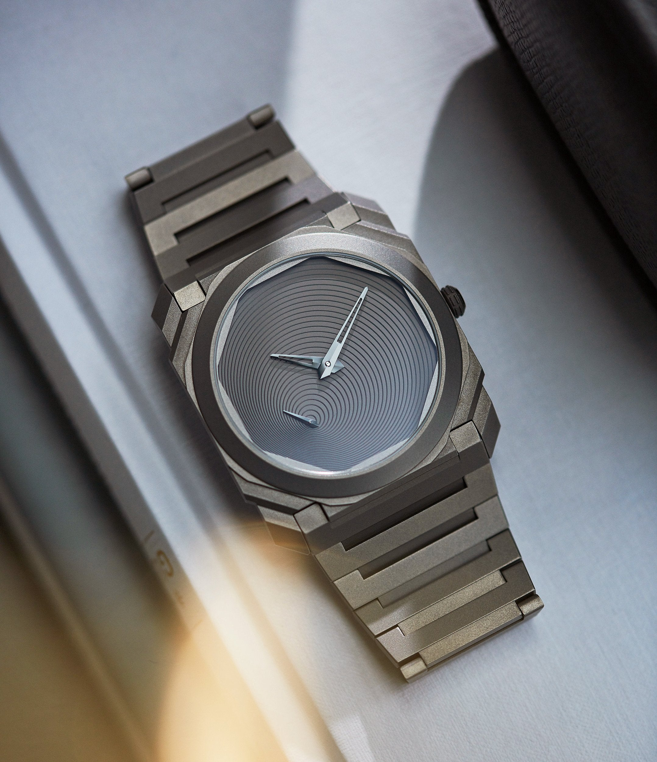 Bulgari Octa finissimo Japan limited edition designed by Tadao Ando for the Japanese market for A Collected Man London