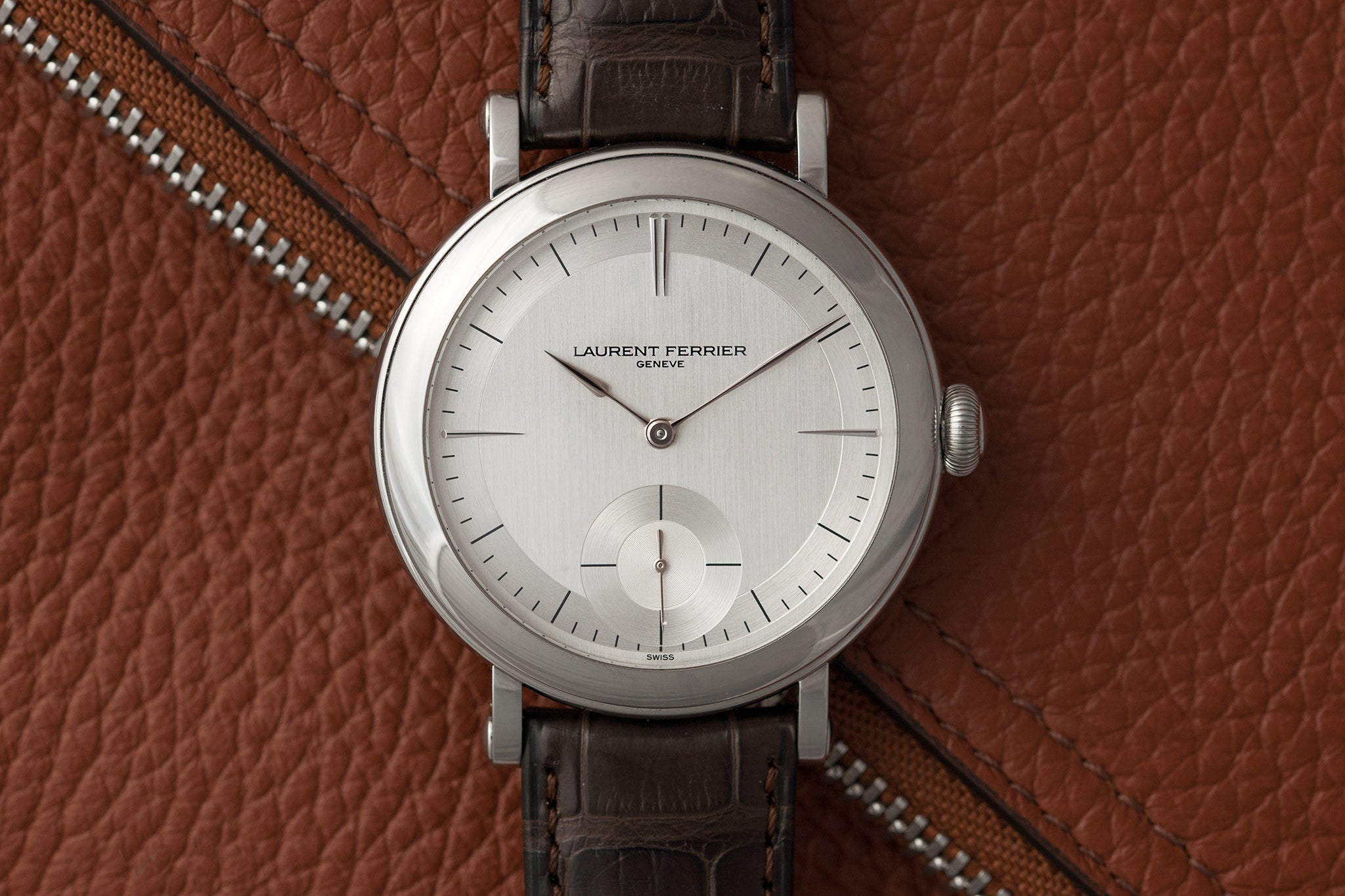 Laurent Ferrier Montre École watch at A Collected Man - approved seller of independent watchmakers