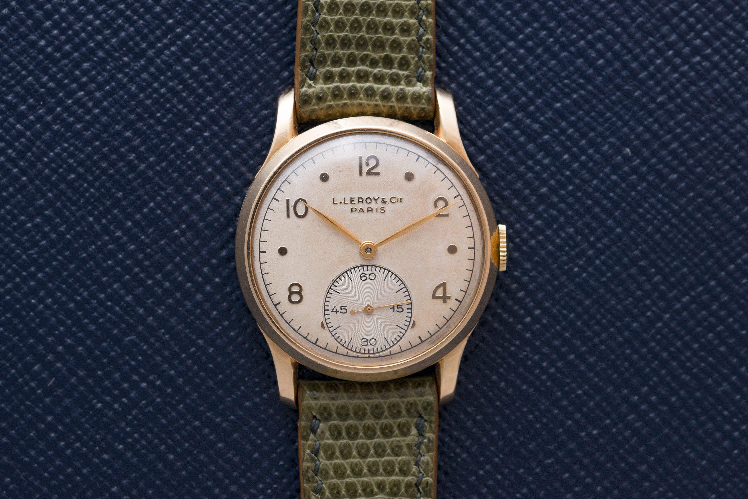 Leroy chronometre-graded watch by the Besançon Observatoryat A Collected Man - seller of rare vintage watches