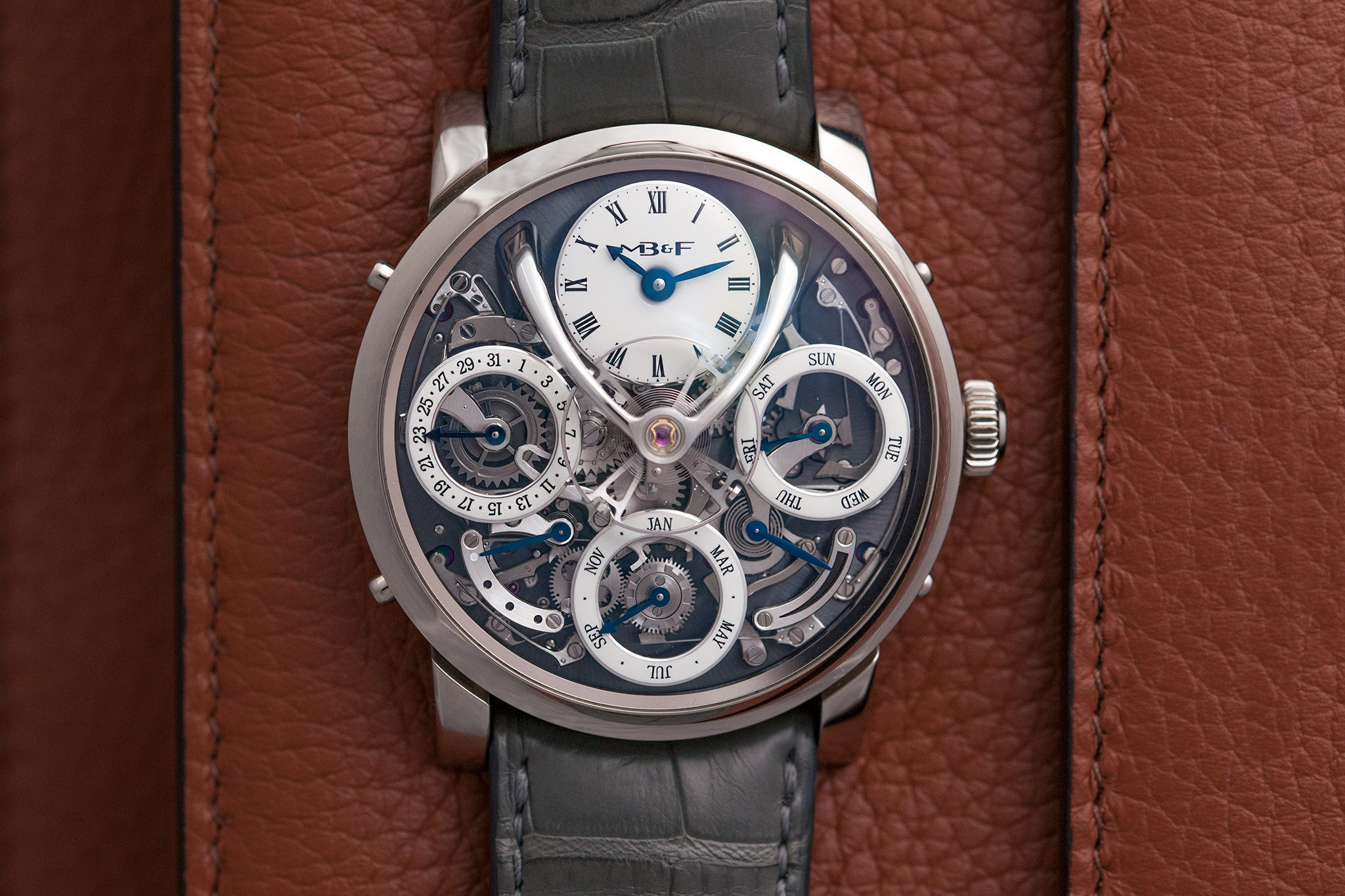 MB&F Legacy Machine Perpetual watch at A Collected Man - approved seller of independent watchmakers
