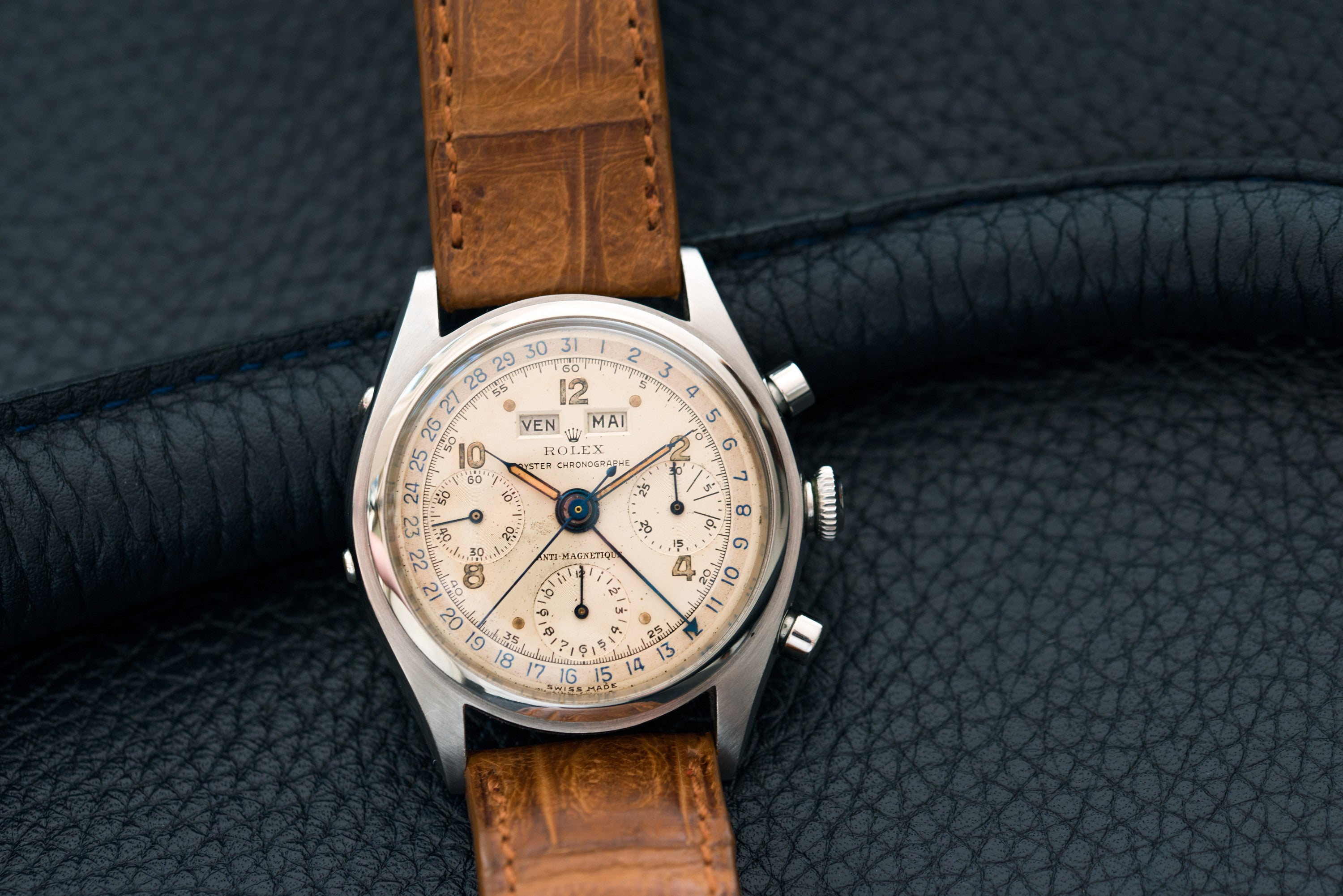 rolex jean claude killy triple calendar chronograph