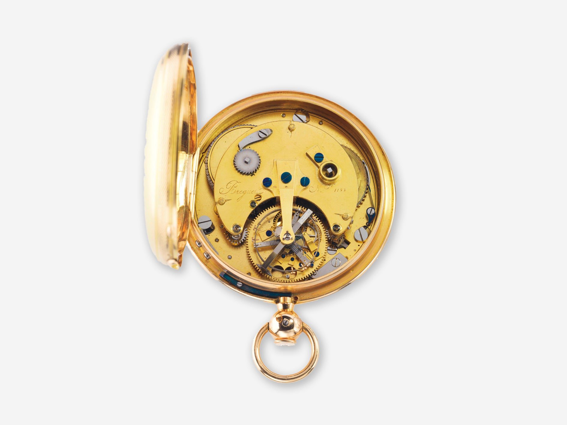 Abrahm-Louis Breguet No 1188 tourbillon with natural escapement