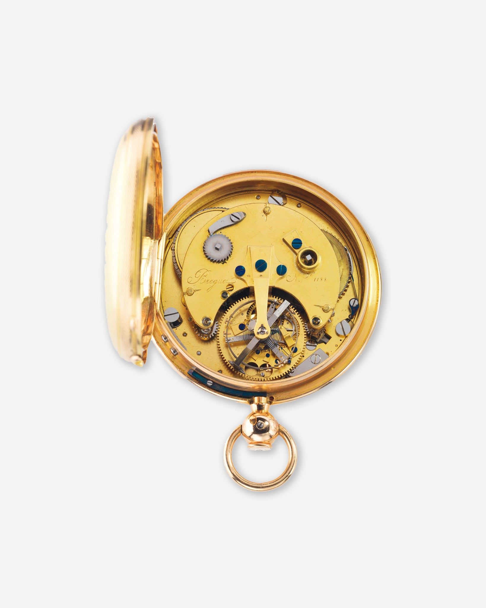 Abraham-Louis Breguet's No. 1188 tourbillon pocket watch