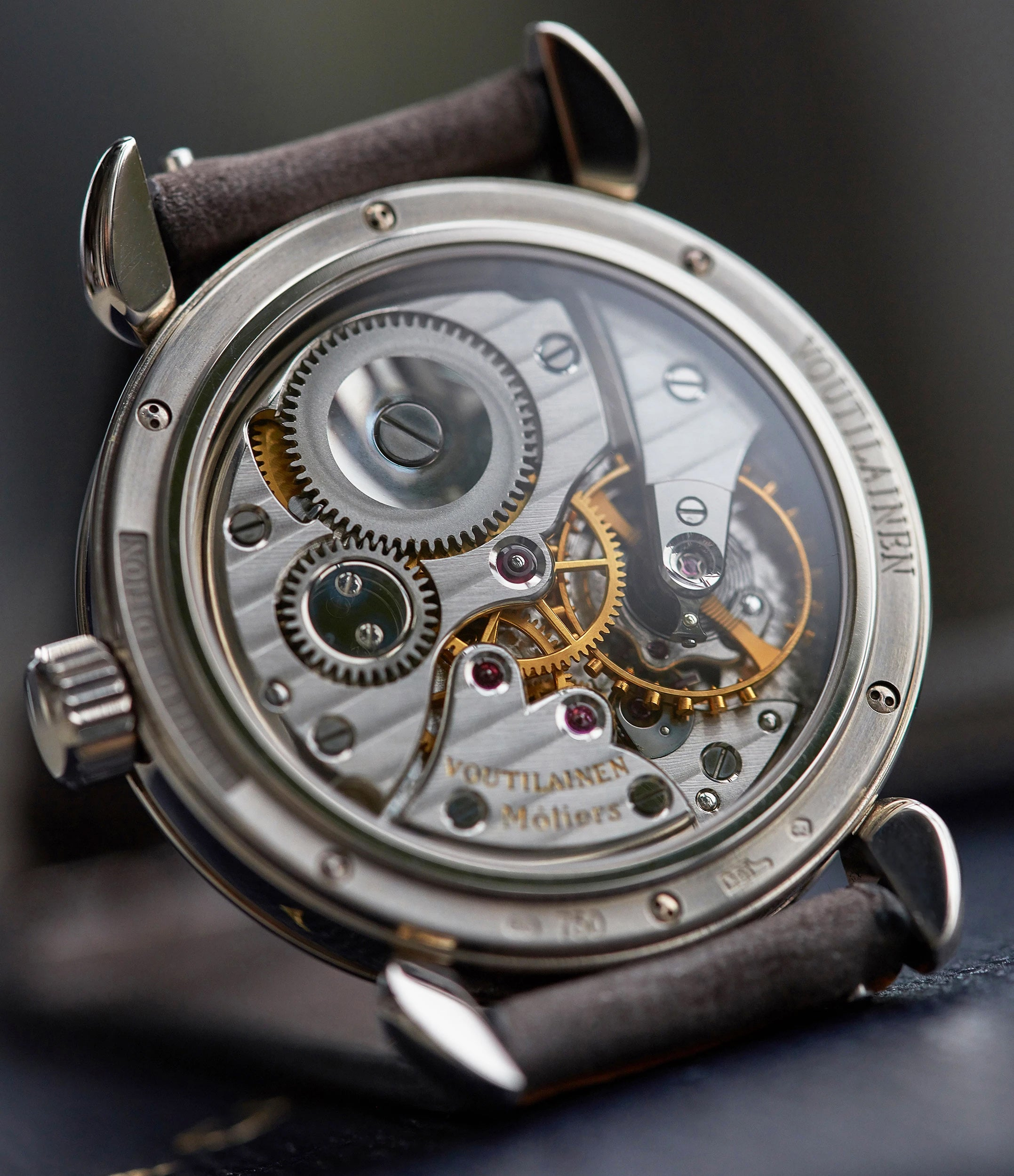 Voutilainen Observatoire watch movement In The Origins of the AHCI for A Collected Man London