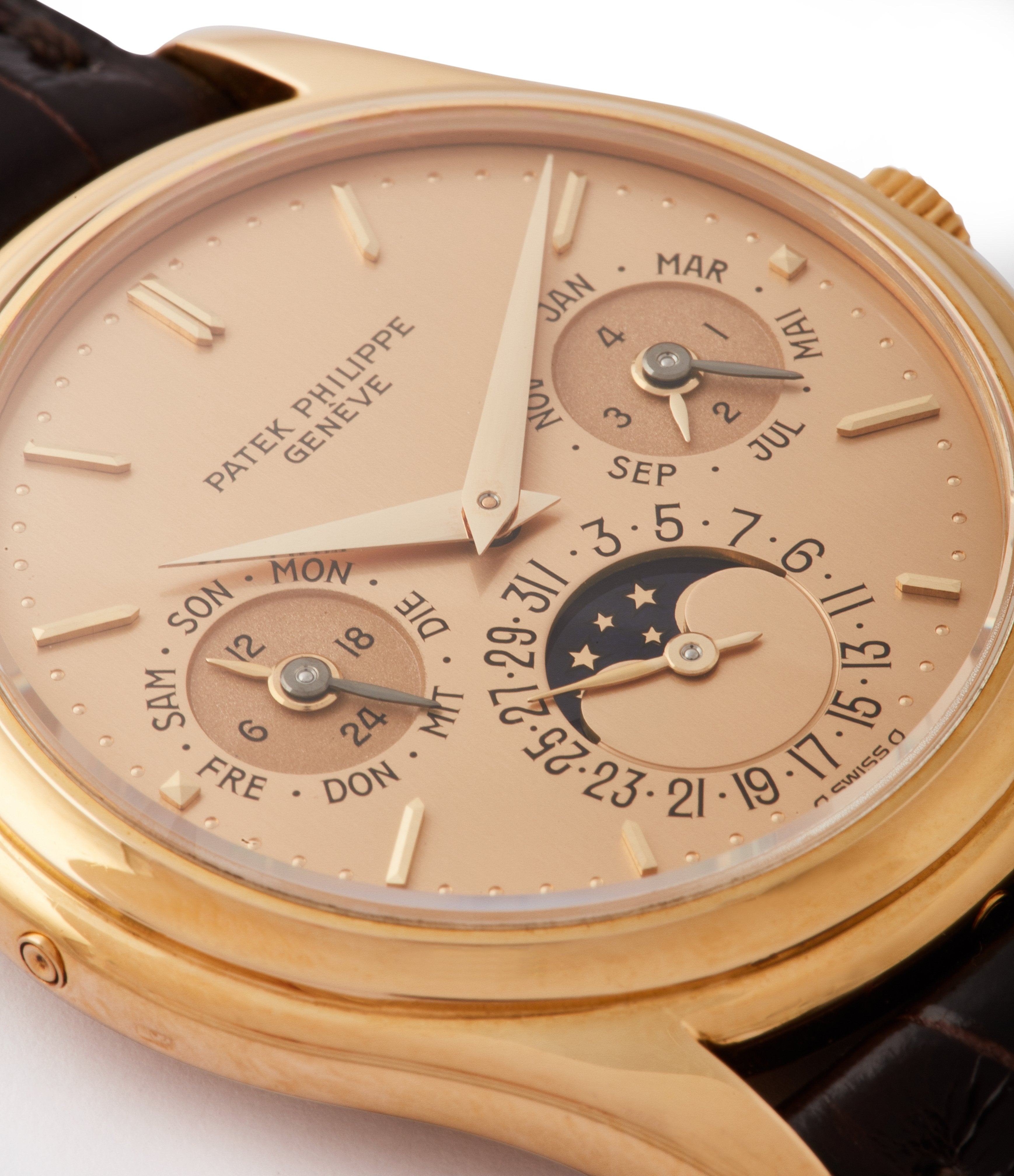 Patek Philippe 3940 first series dial macro in Transitional watches for A Collected Man London