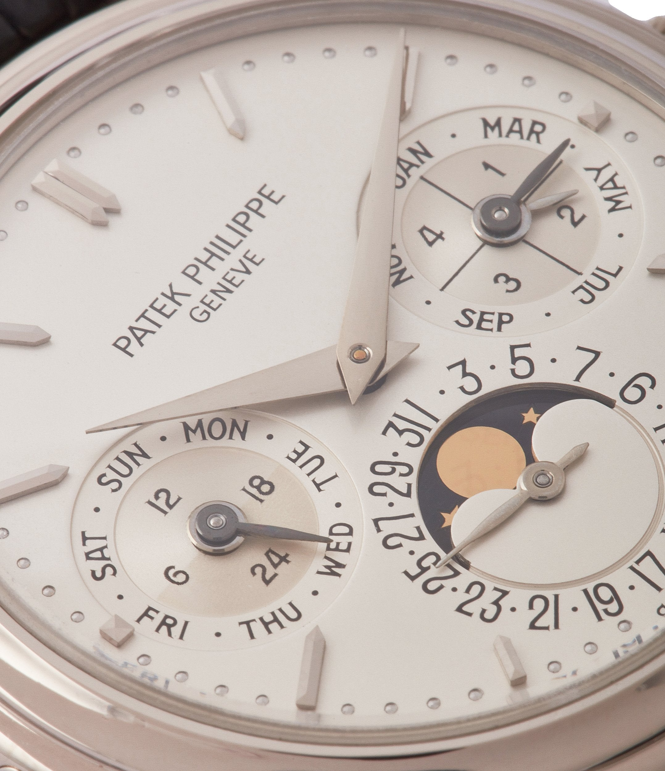 Patek Philippe 3940 third series dial macro in Transitional watches for A Collected Man London