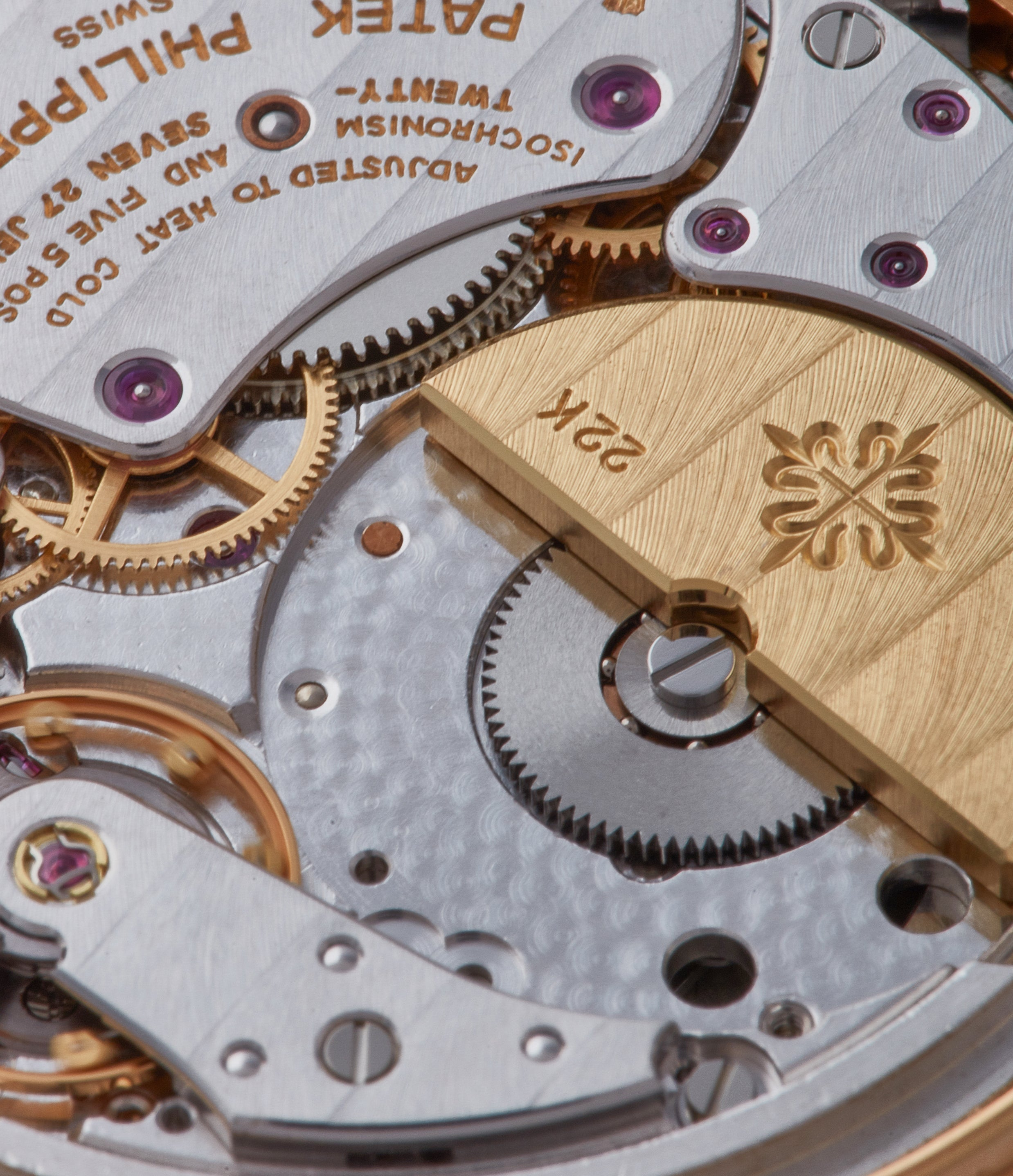 Macro on 3940 movement in Transitional watches for A Collected Man London