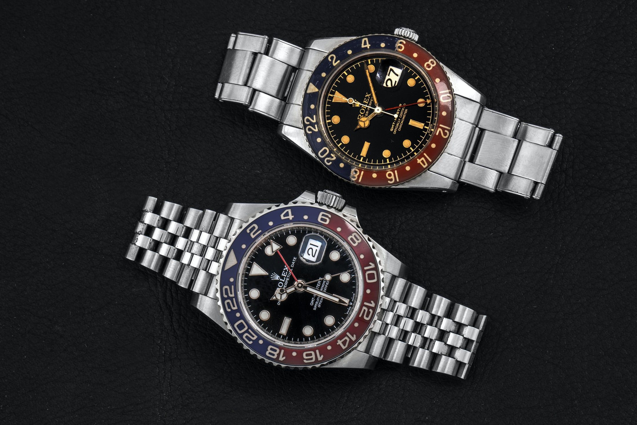 First and last GMT-Master in Transitional watches for A Collected Man London