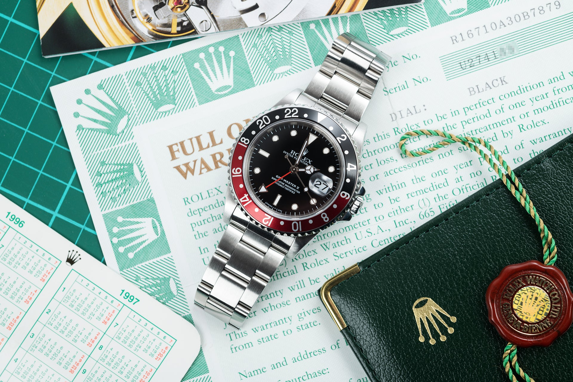 Rolex GMT-Master II ref. 16710 on papers in Transitional watches for A Collected Man London